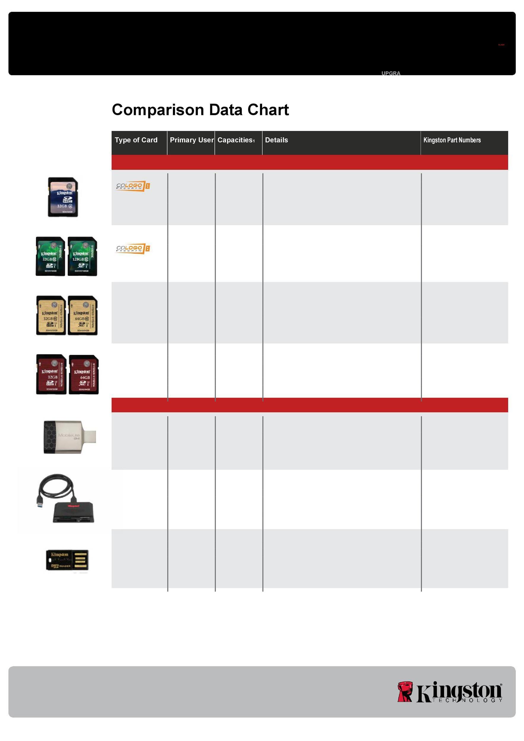 Free Comparison Chart Template 09