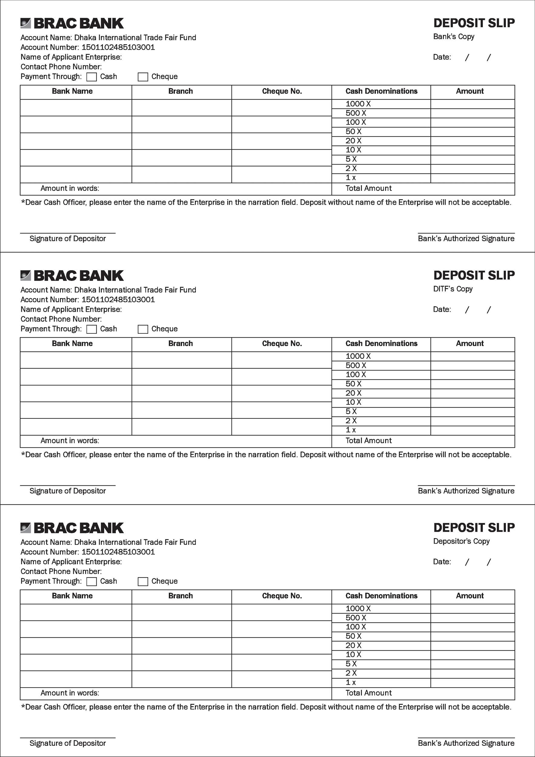 graphic regarding Us Bank Deposit Slip Printable titled 37 Financial institution Deposit Slip Templates Illustrations ᐅ Template Lab