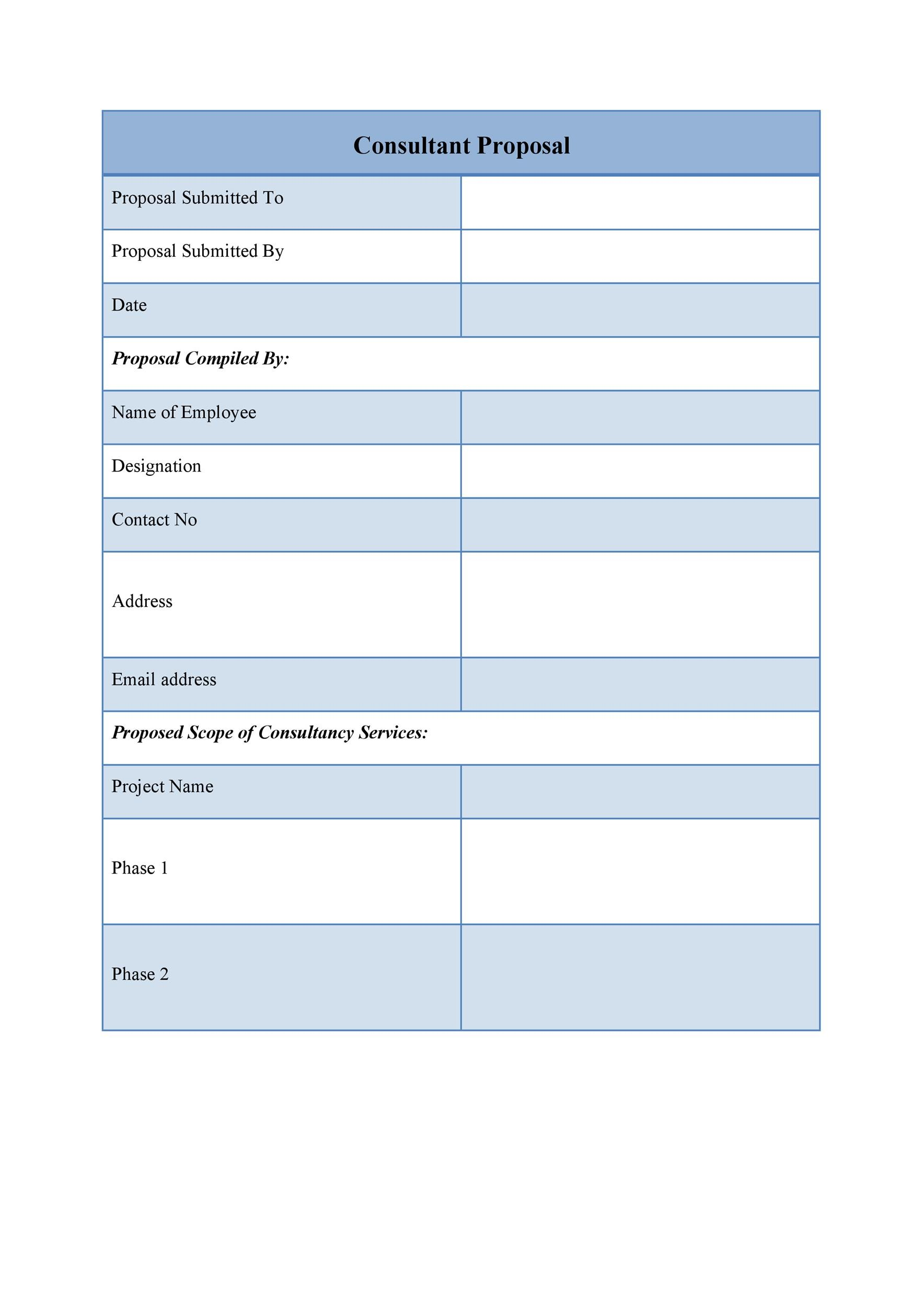 39 BEST Consulting Proposal Templates [FREE]