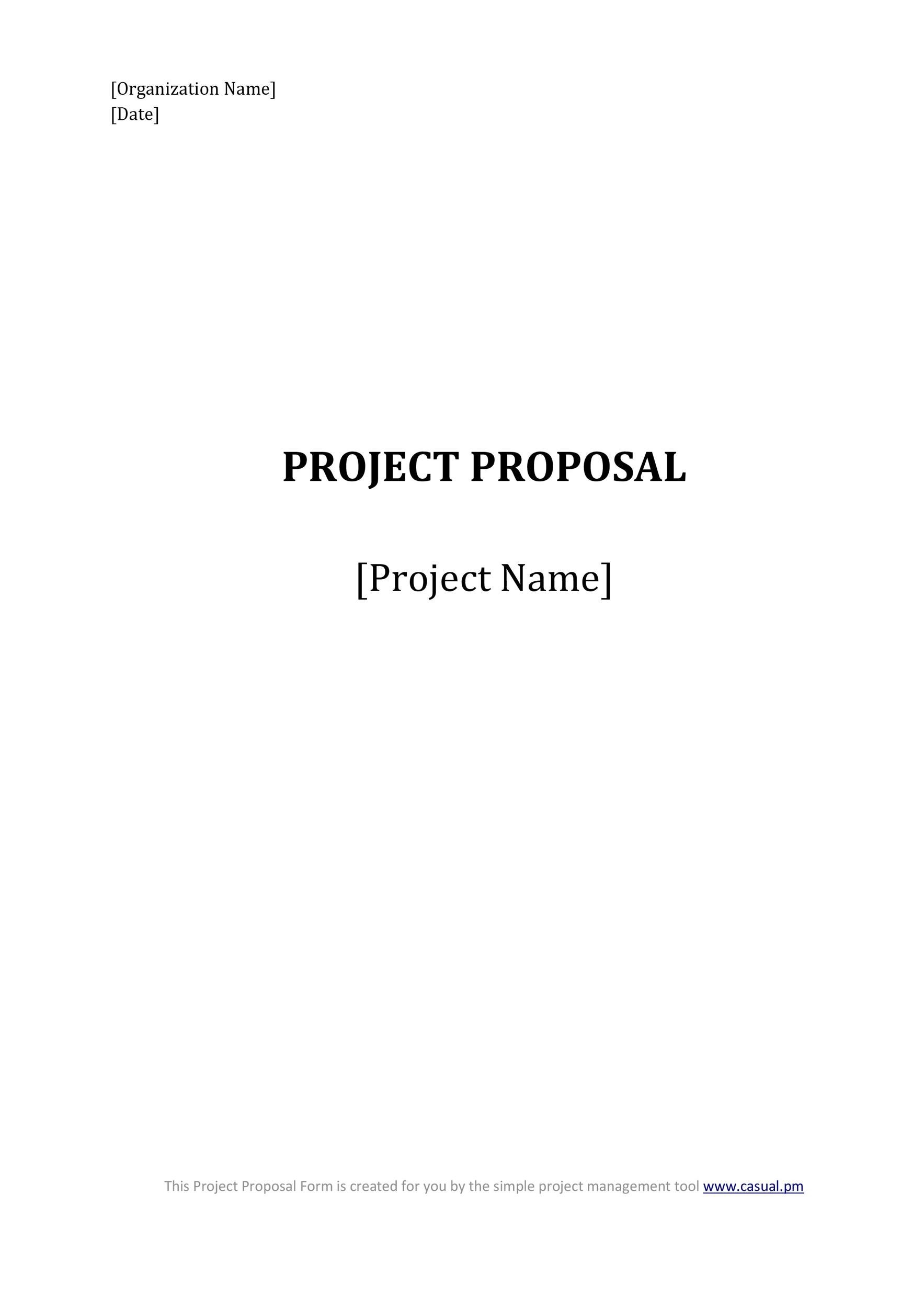 Free consulting proposal template 24