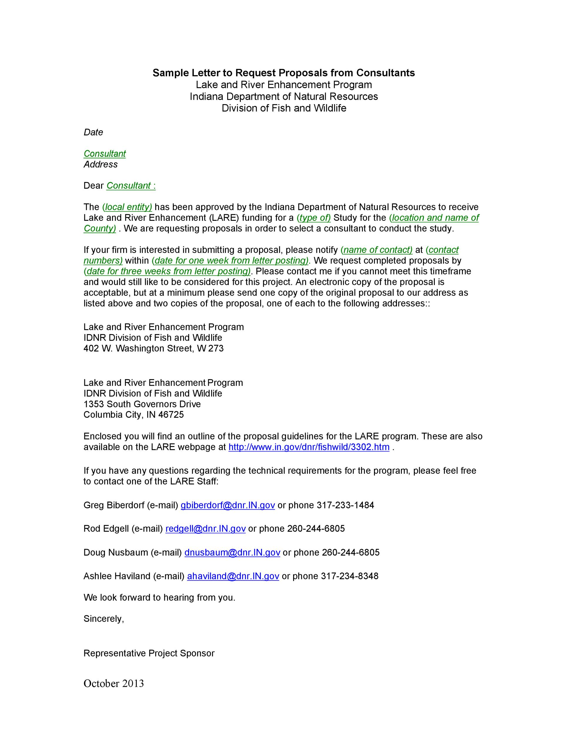 Free consulting proposal template 26