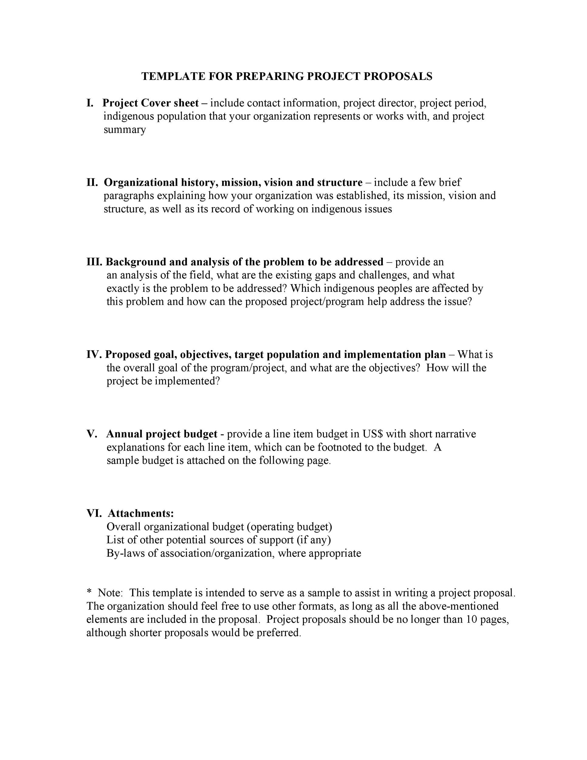 free consulting proposal template 35
