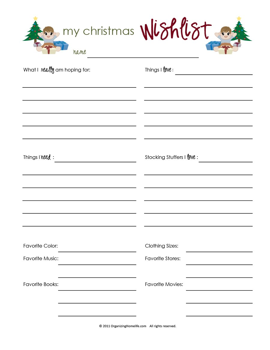 Free grocery list template 41