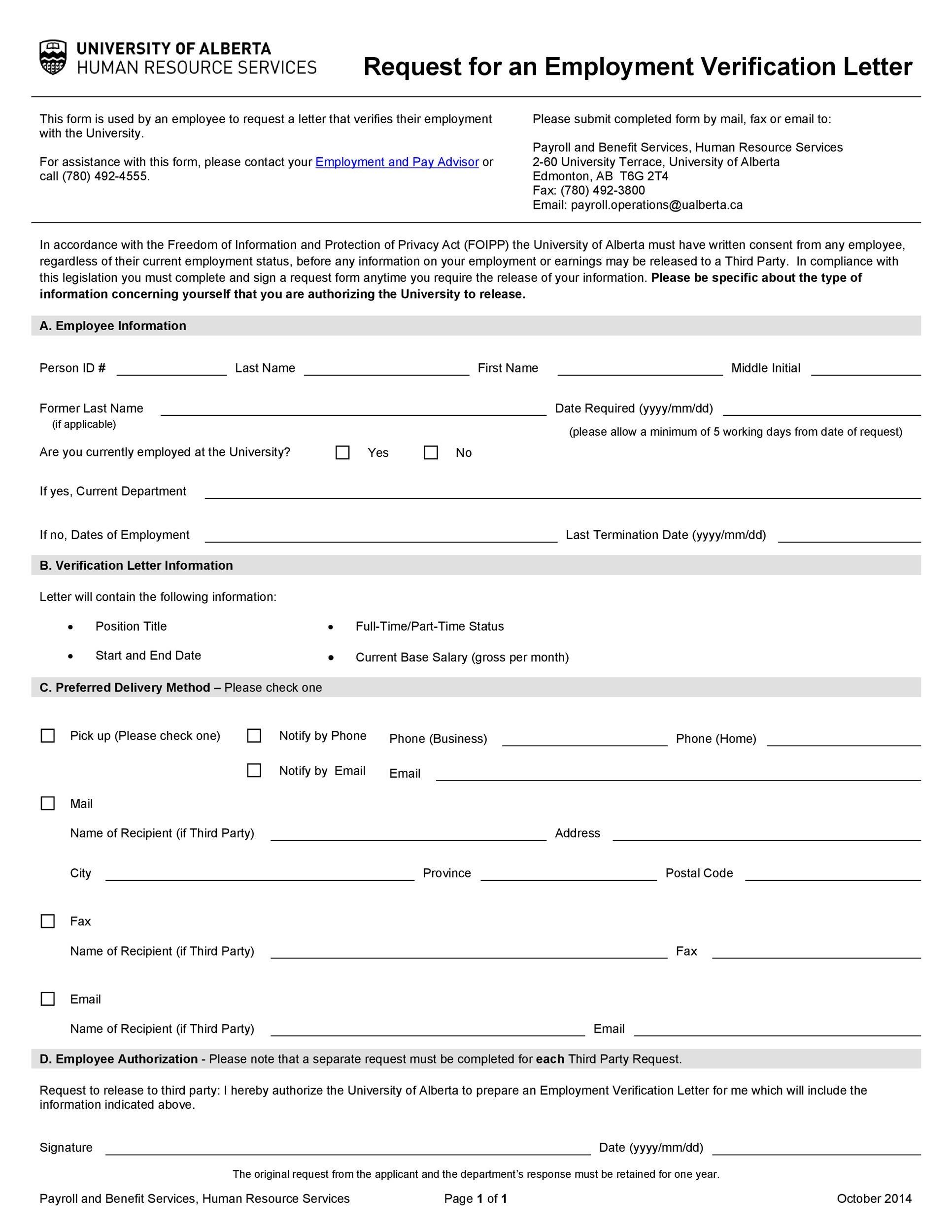 Free income verification letter 04