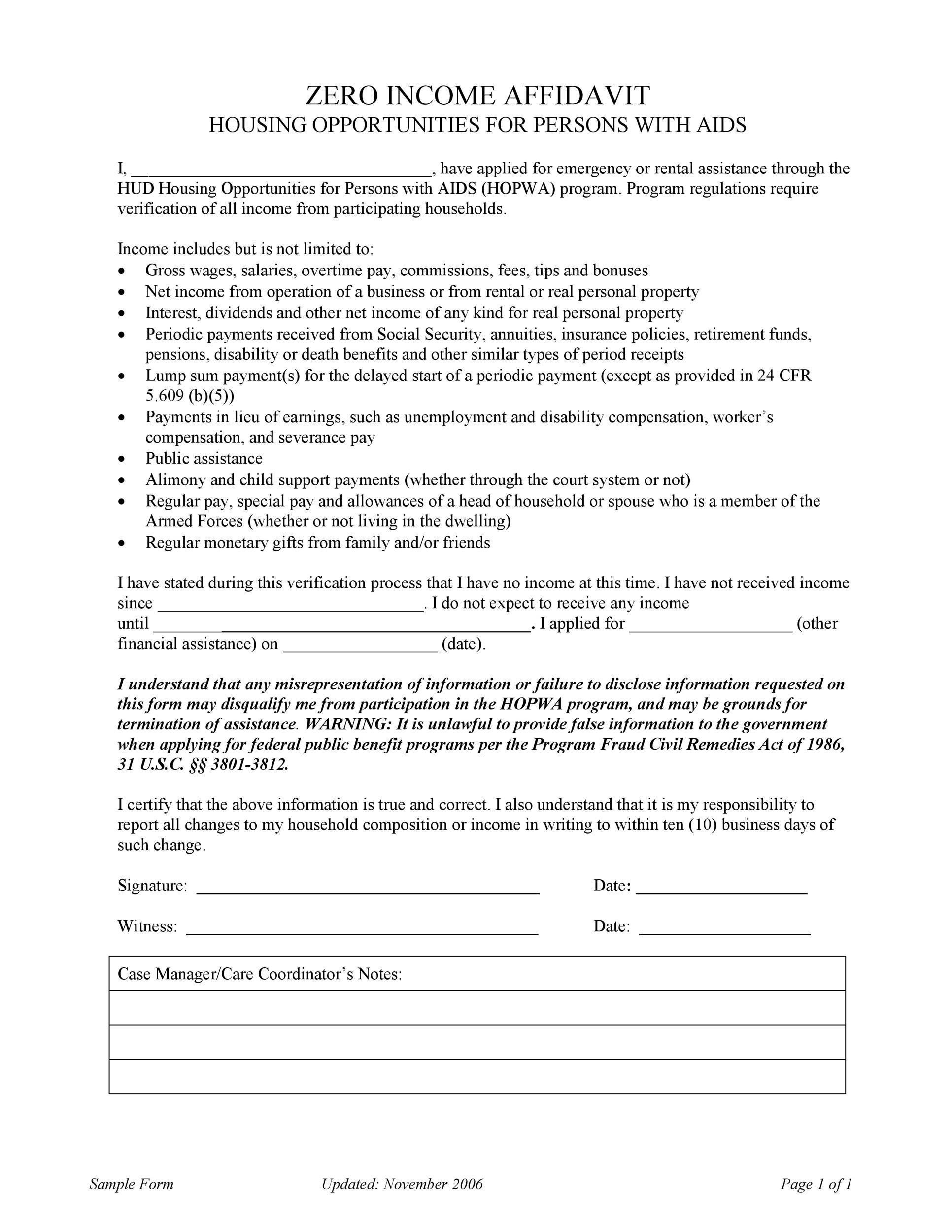 Free income verification letter 31