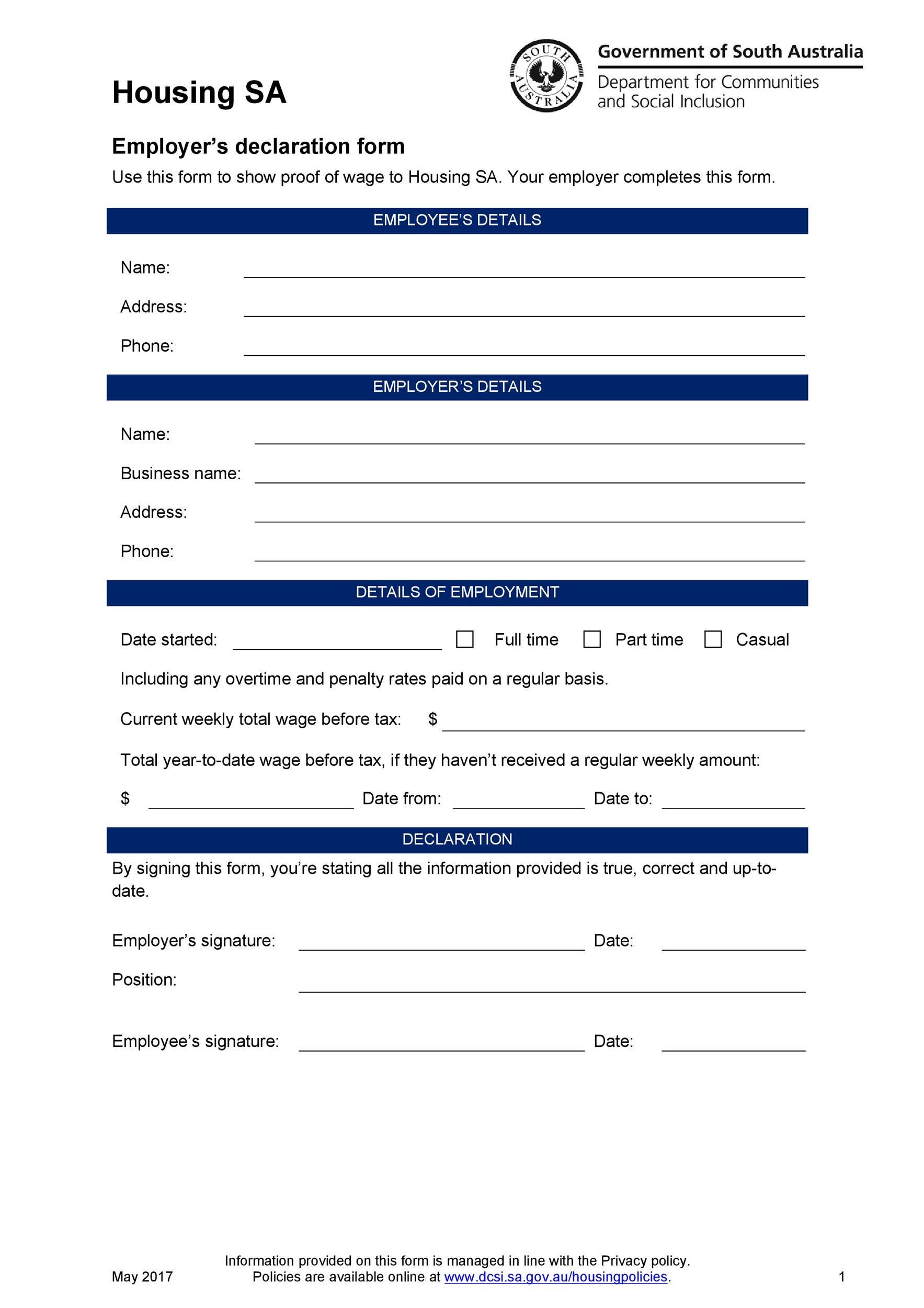 Free income verification letter 40