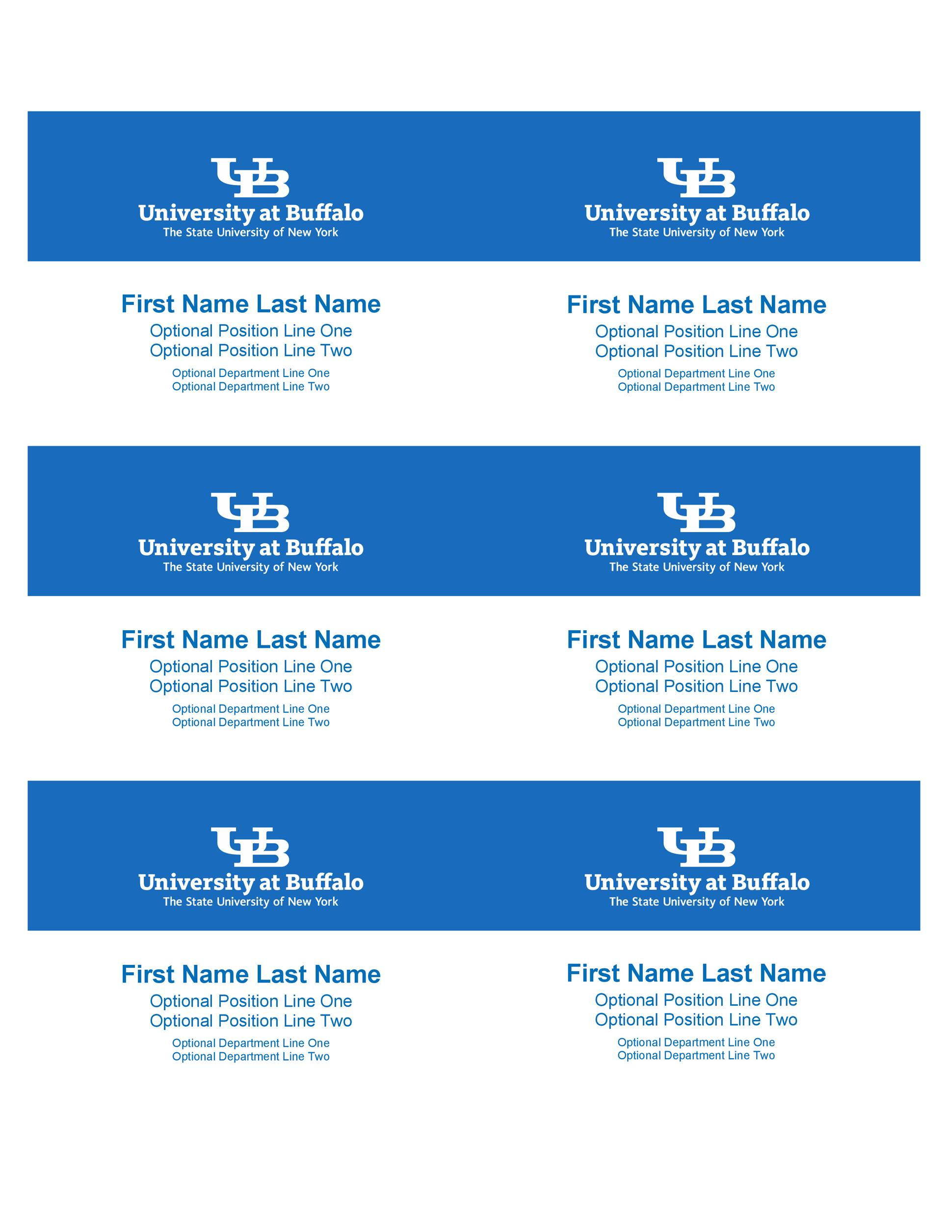 Free name tag template 09