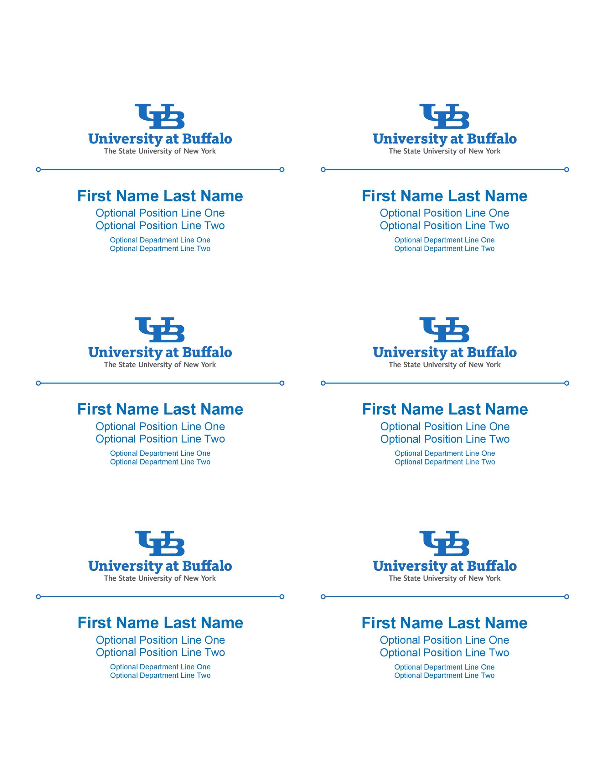 Free name tag template 10