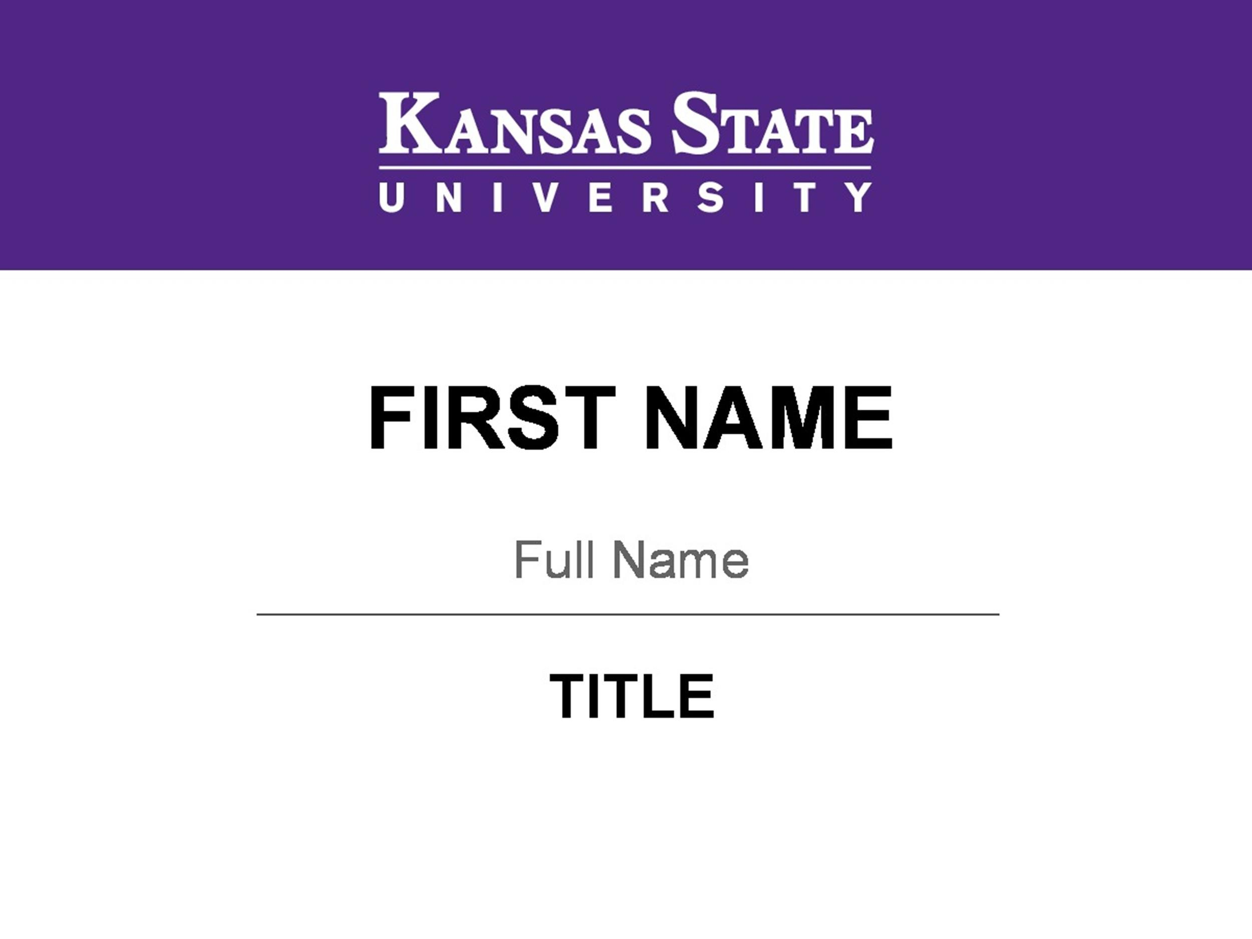 Free name tag template 27