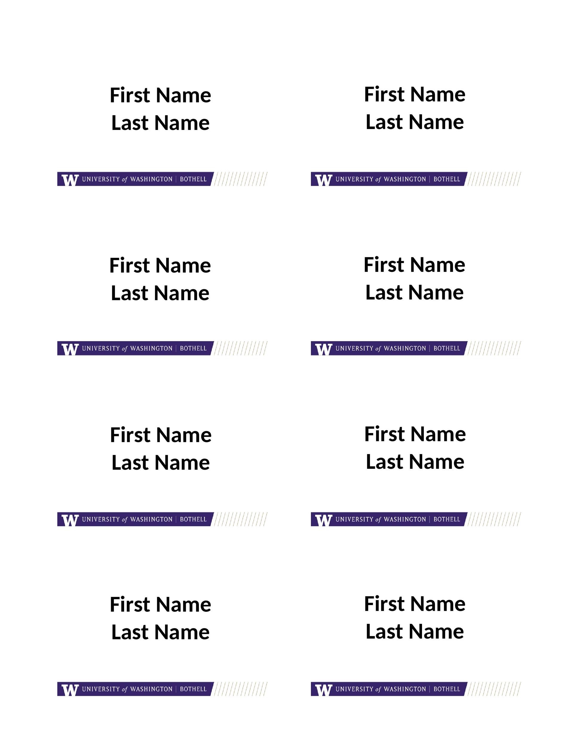 Free name tag template 29