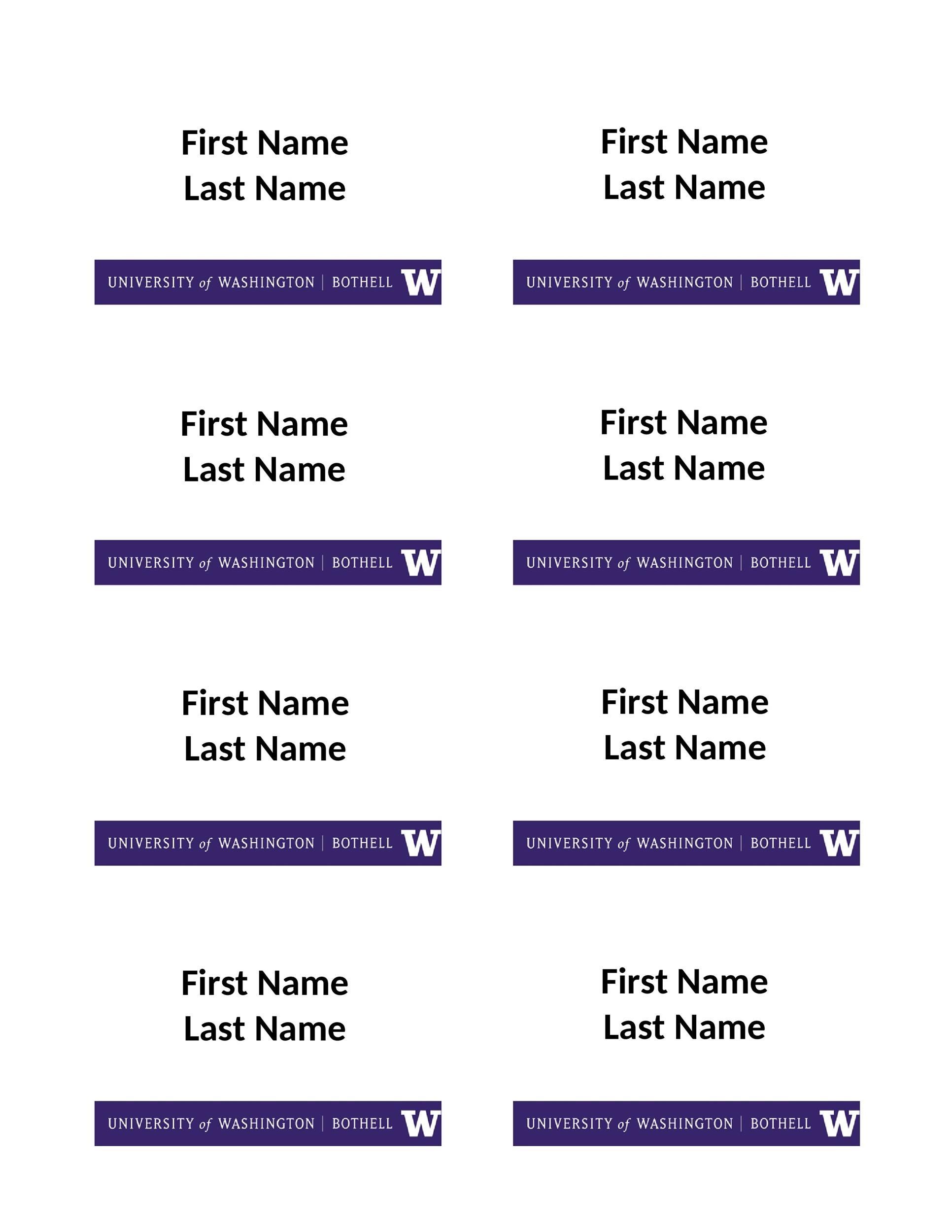 Free name tag template 30