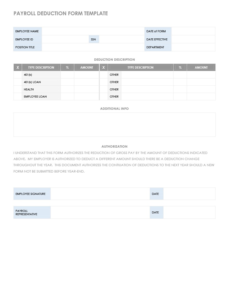 Free payroll template 08