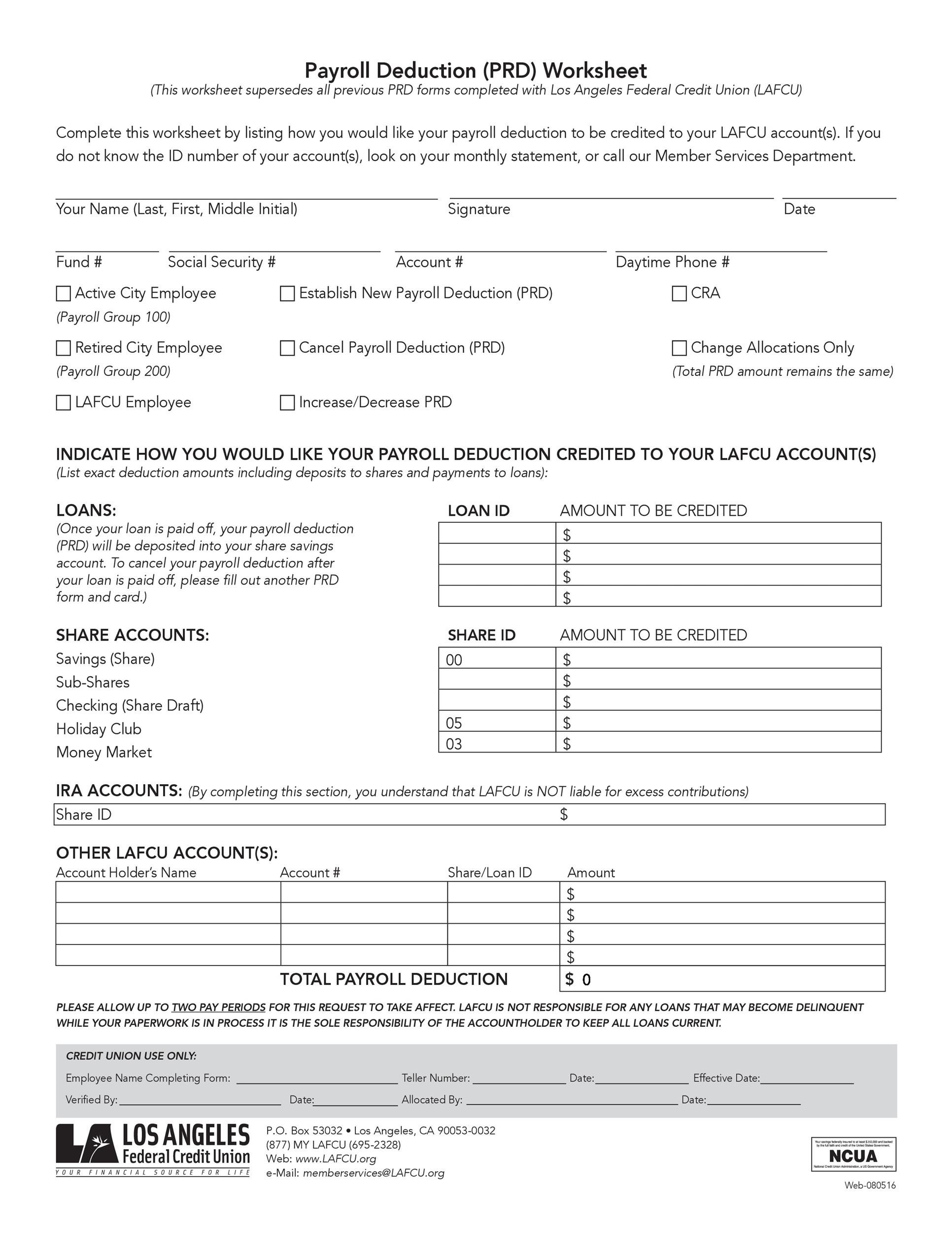 Free payroll template 27