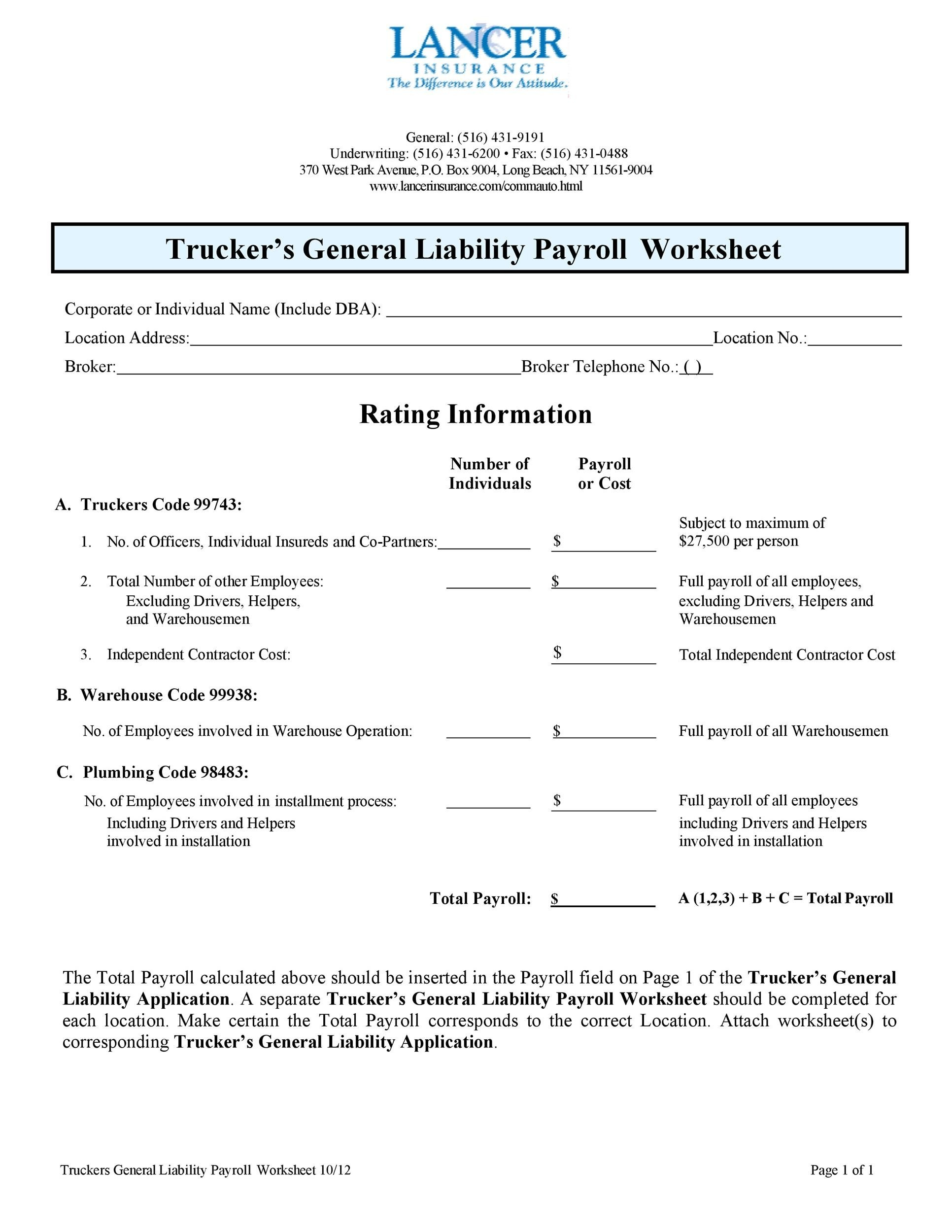 Free payroll template 36