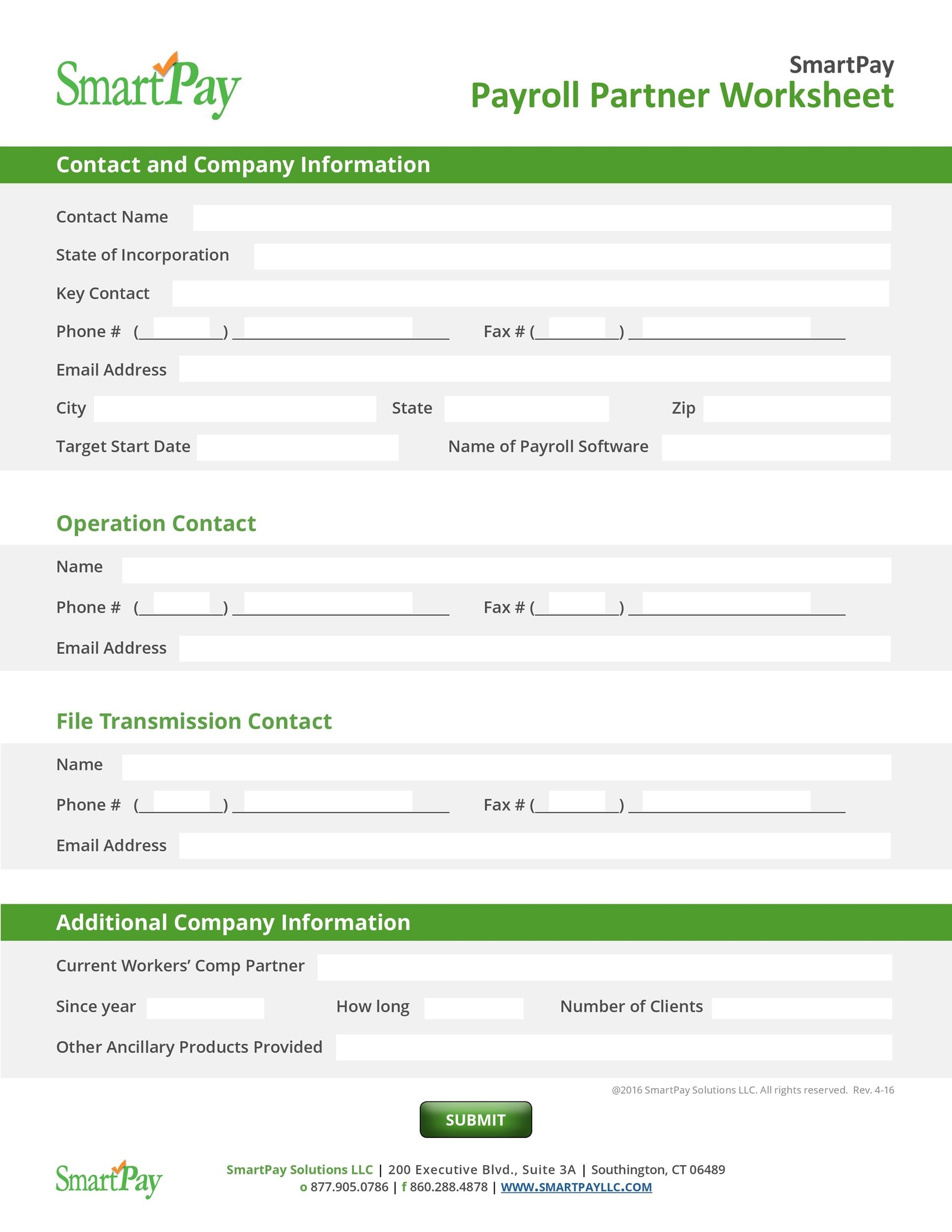 Free payroll template 40