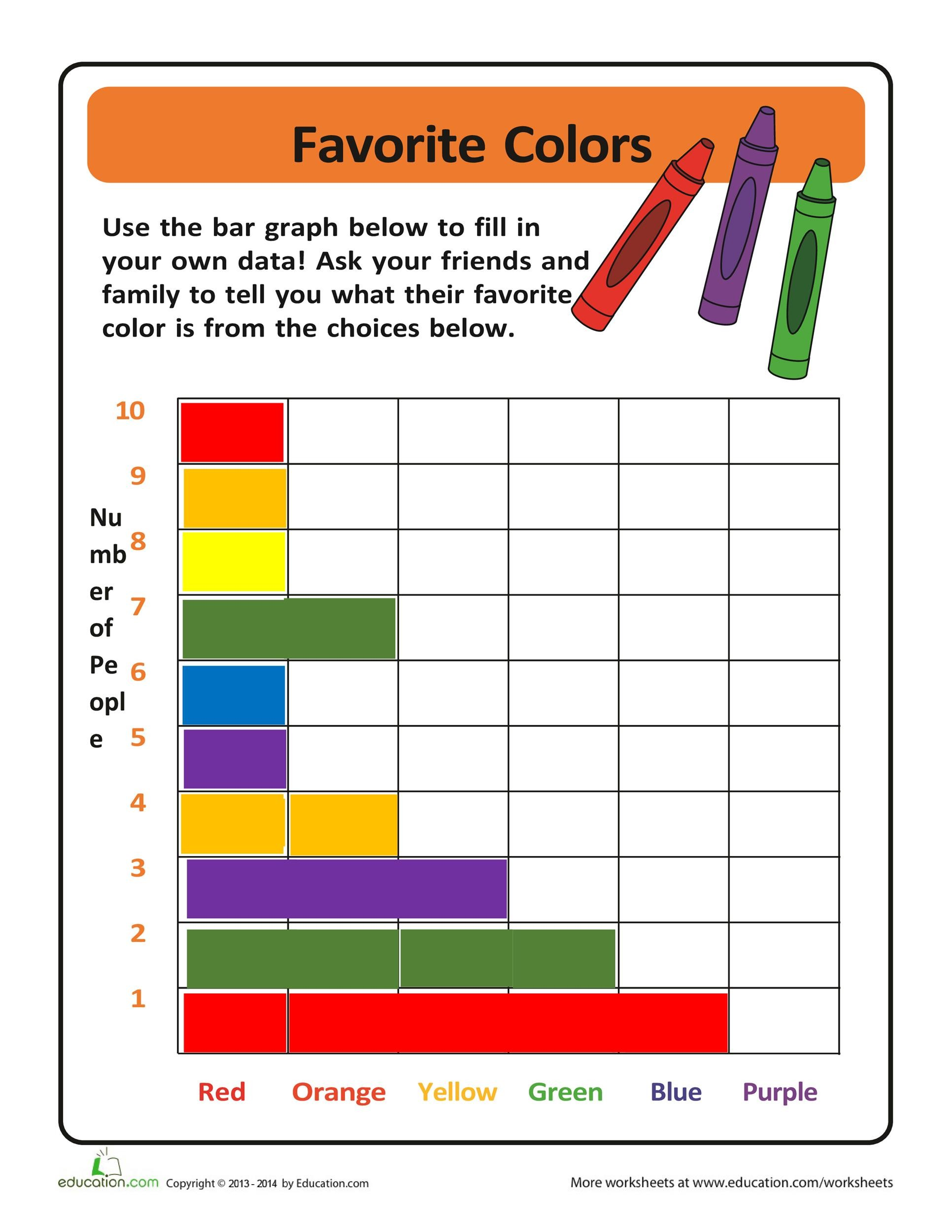 Free Bar Graph Template 01