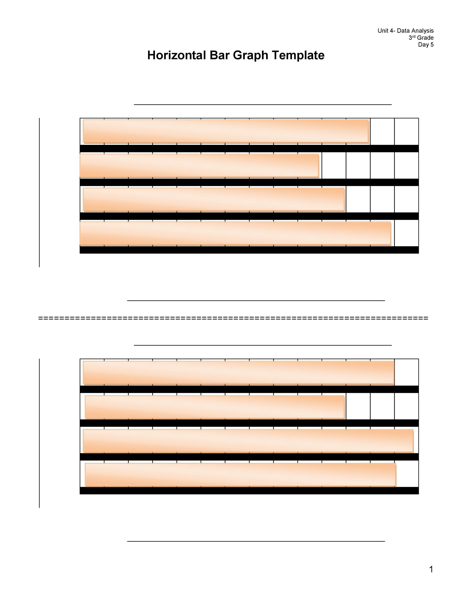 Free Bar Graph Template 11