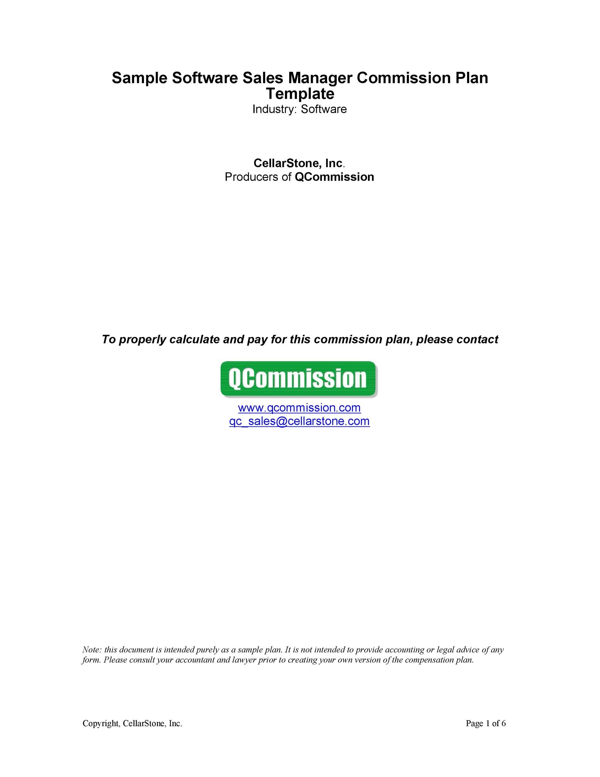 Free Commission Agreement Template 15