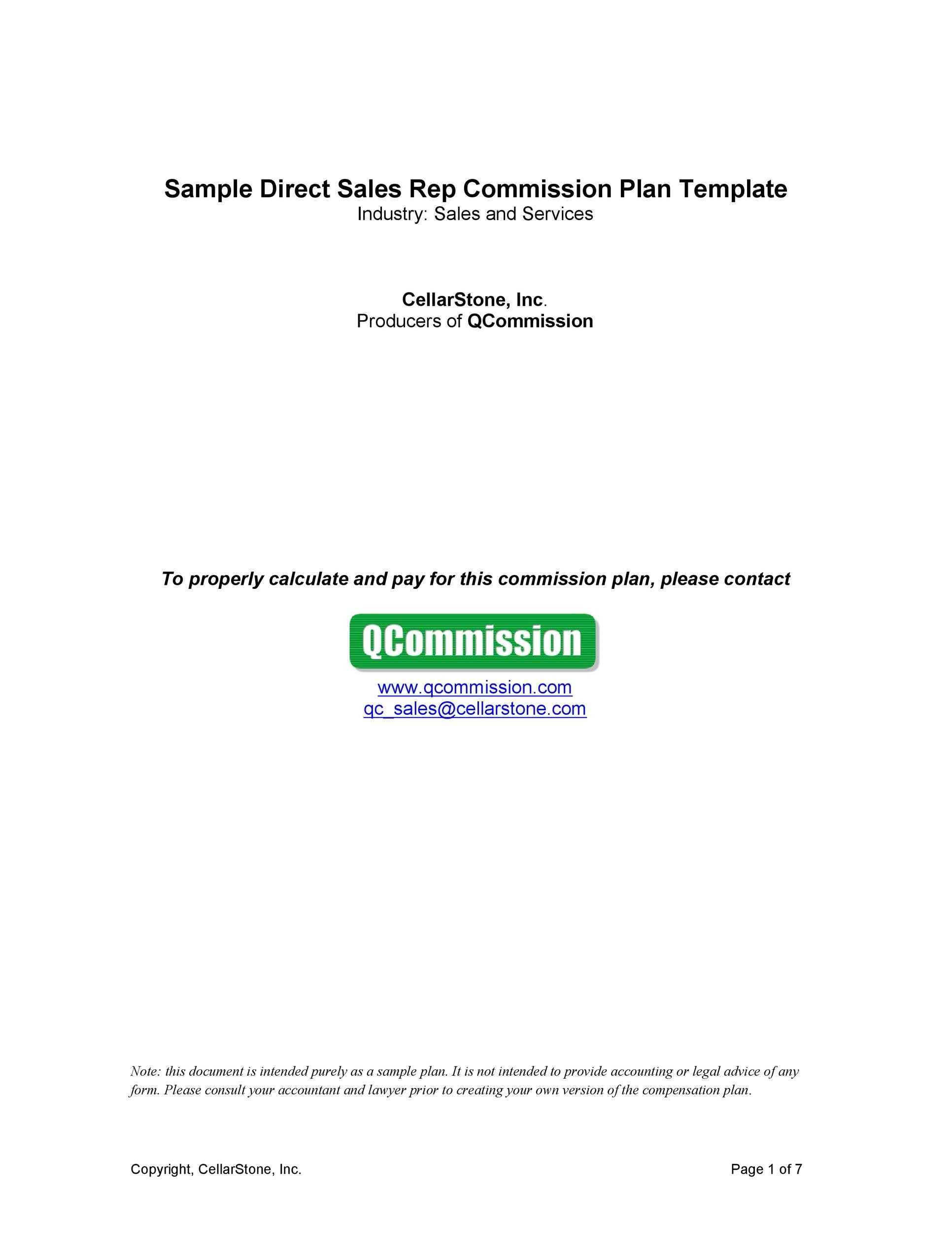 Free Commission Agreement Template 29