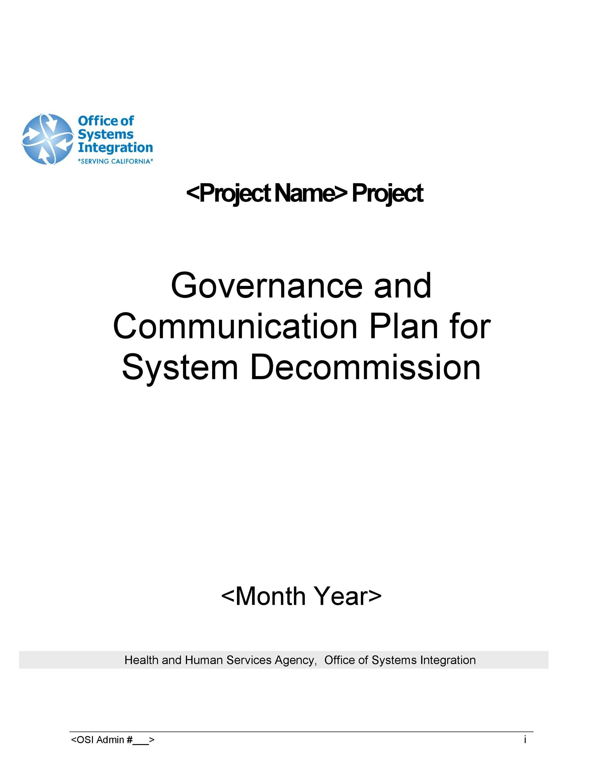Free Communication Plan Template 29