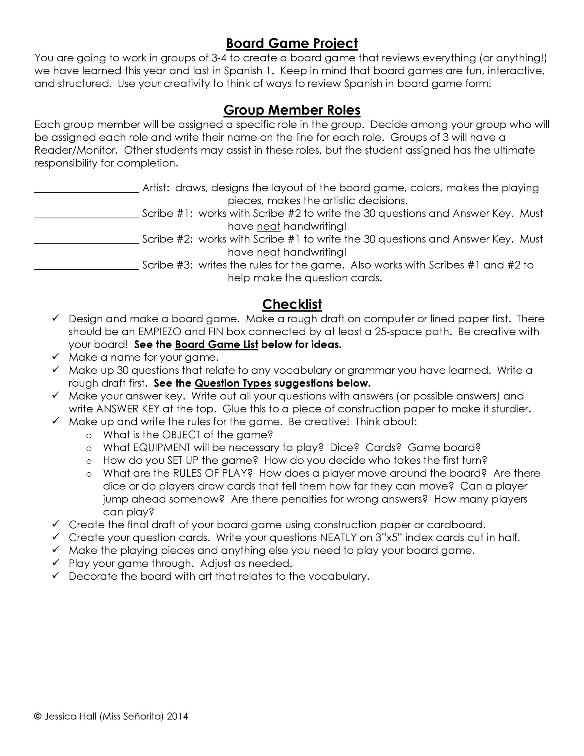 Free Grading Rubric Template 04