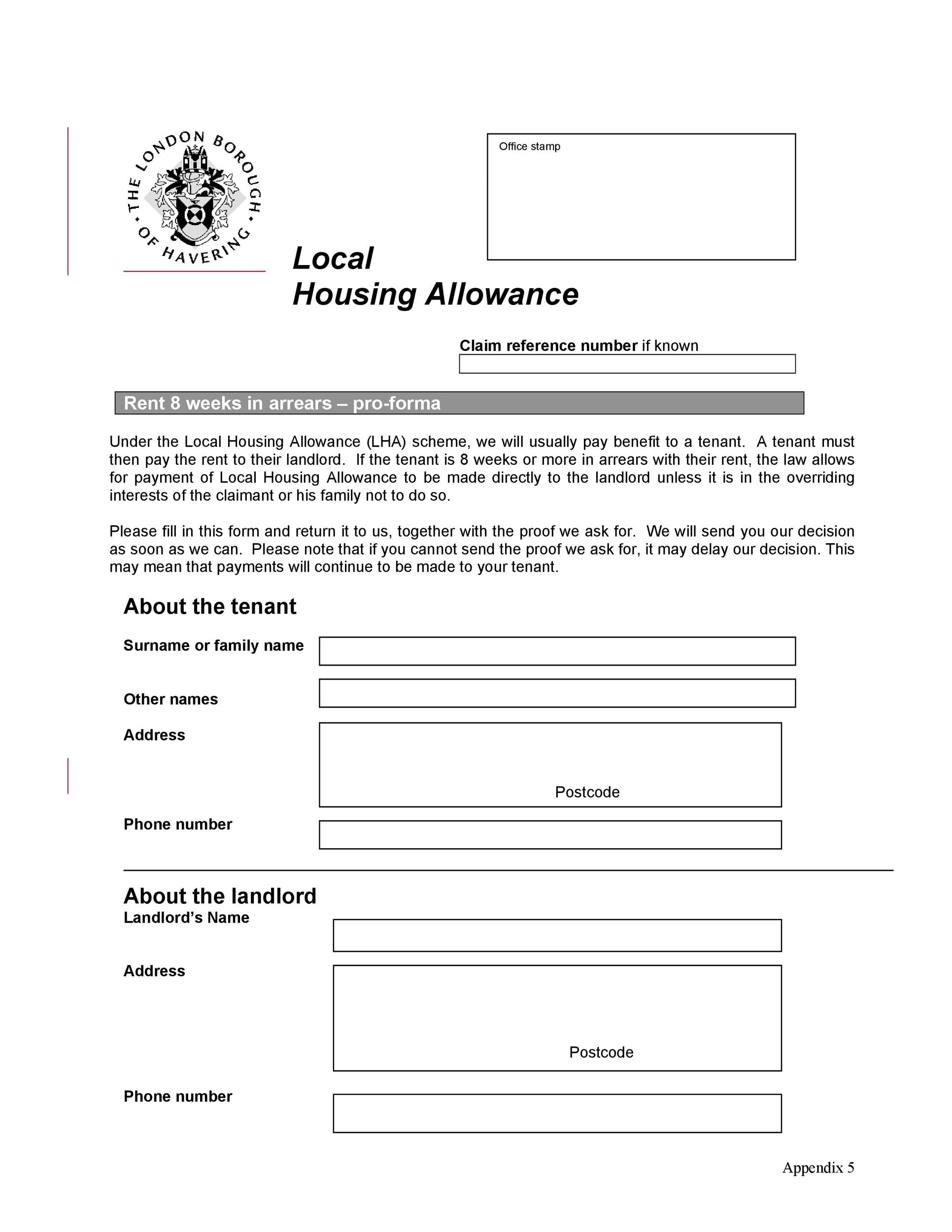 Free Late Rent Notice Template 19