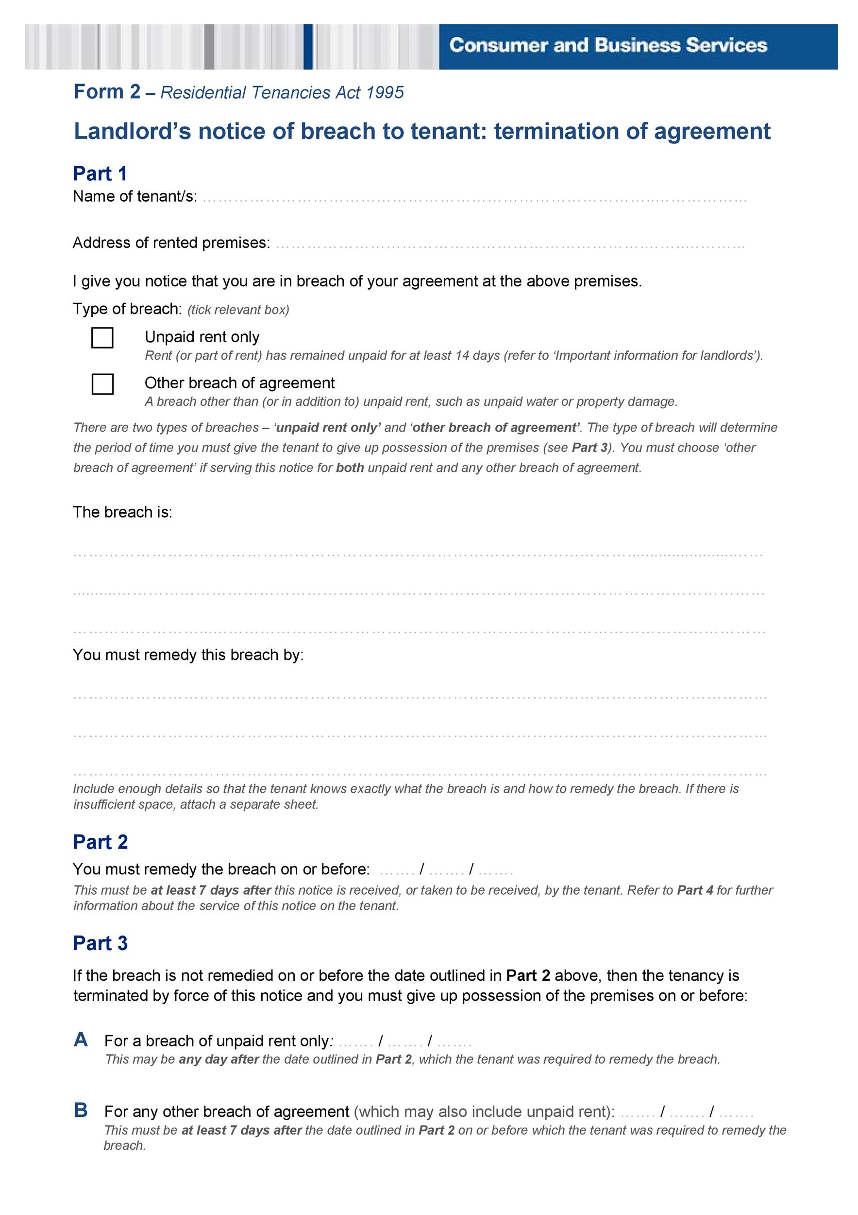 Free Late Rent Notice Template 32