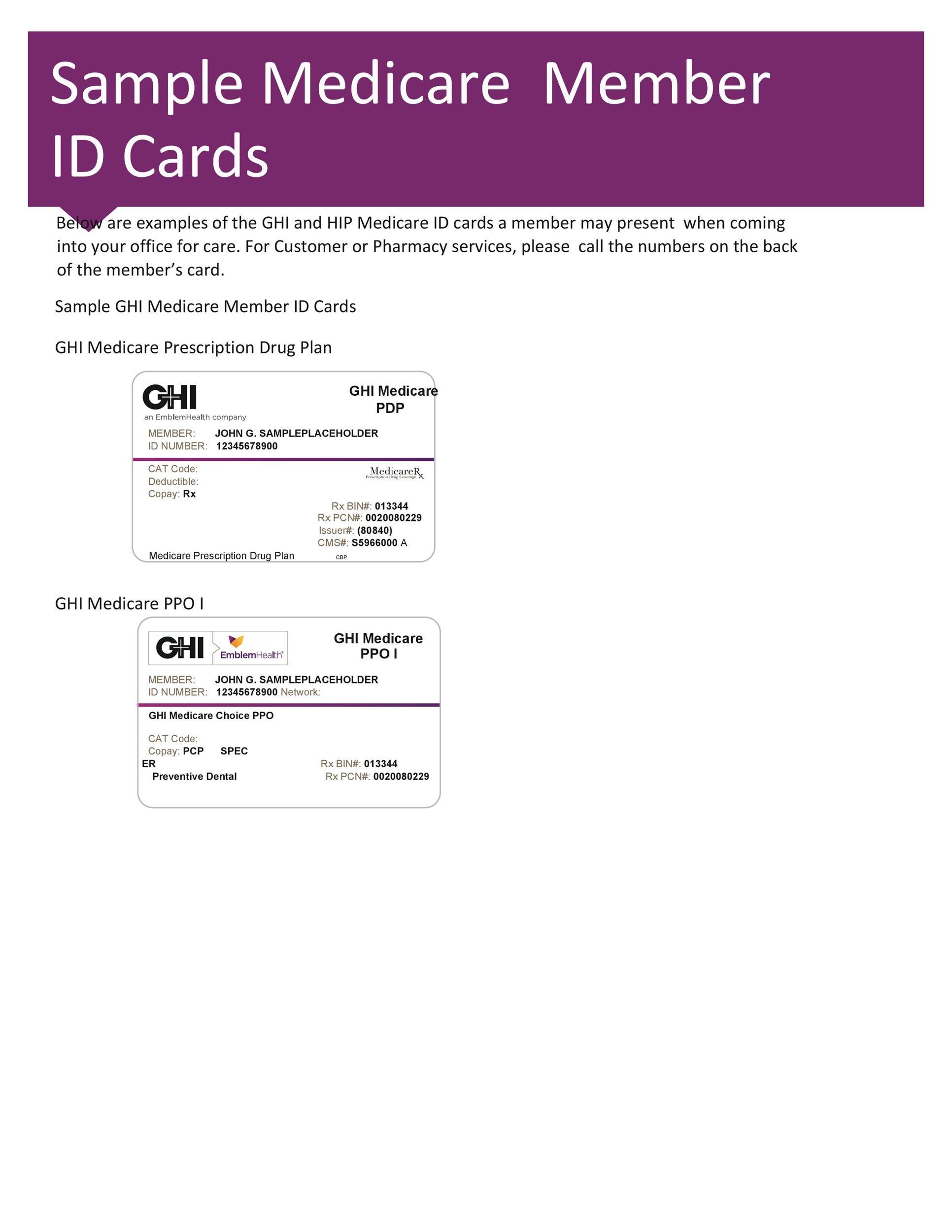 Free Membership Card Design Template 02