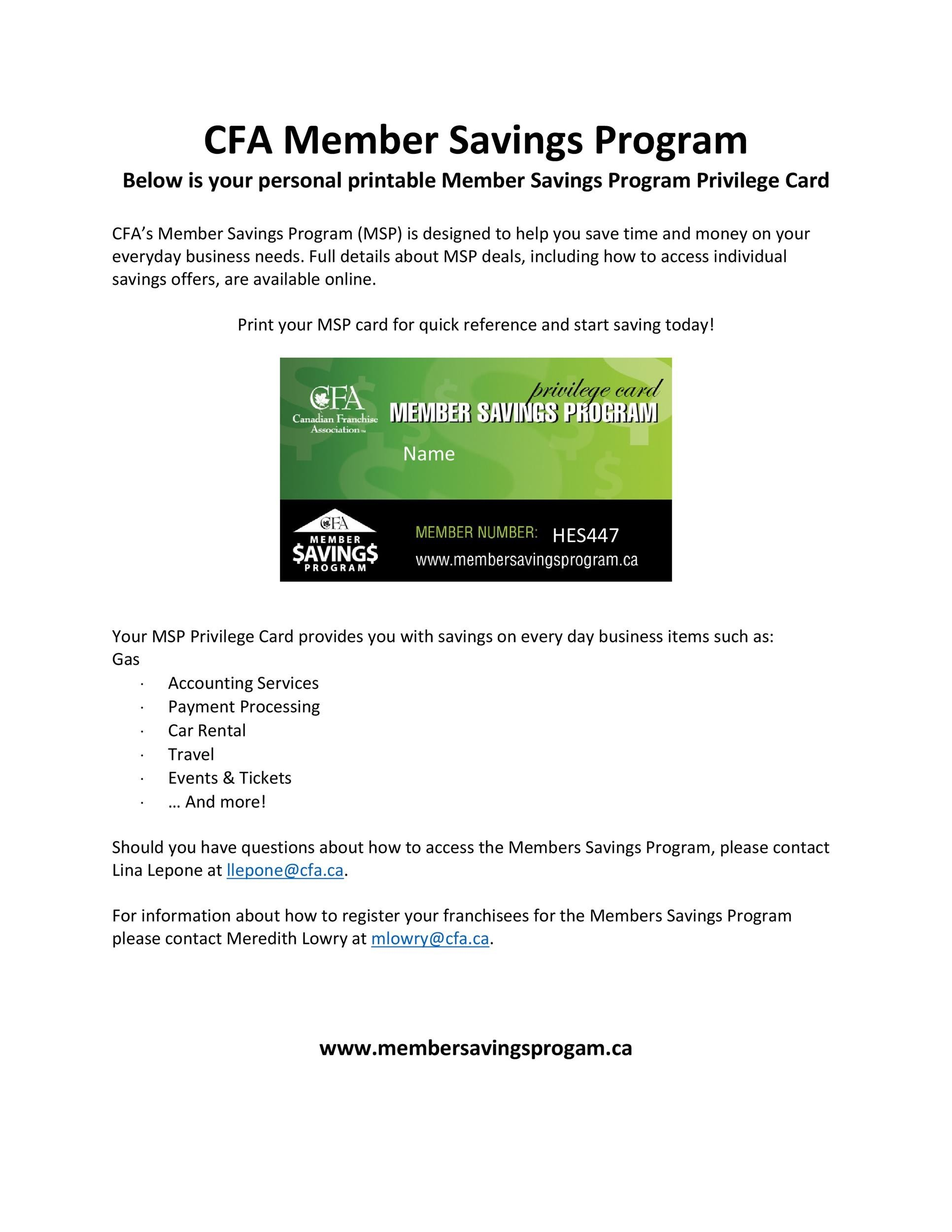 Free Membership Card Design Template 16