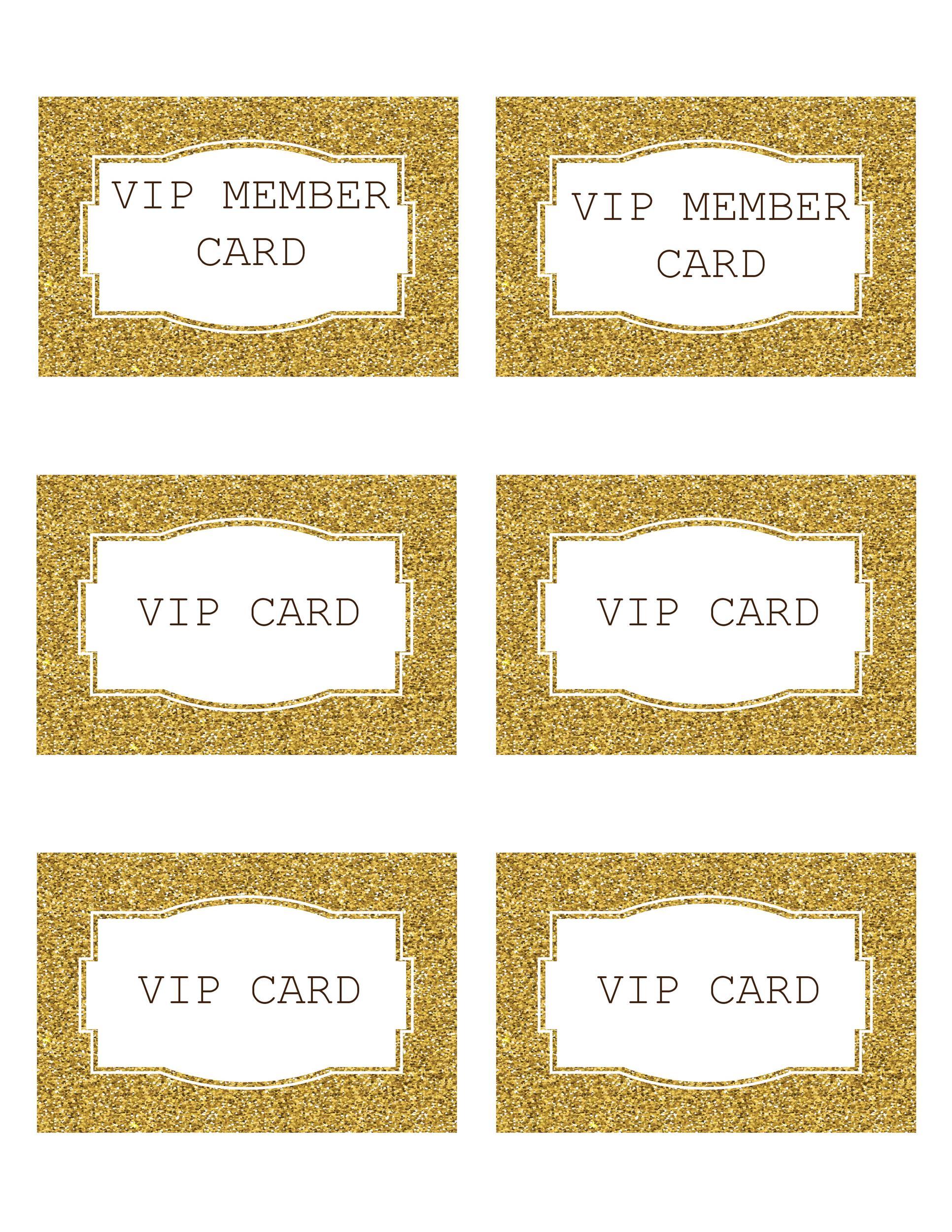 Free Membership Card Design Template 32