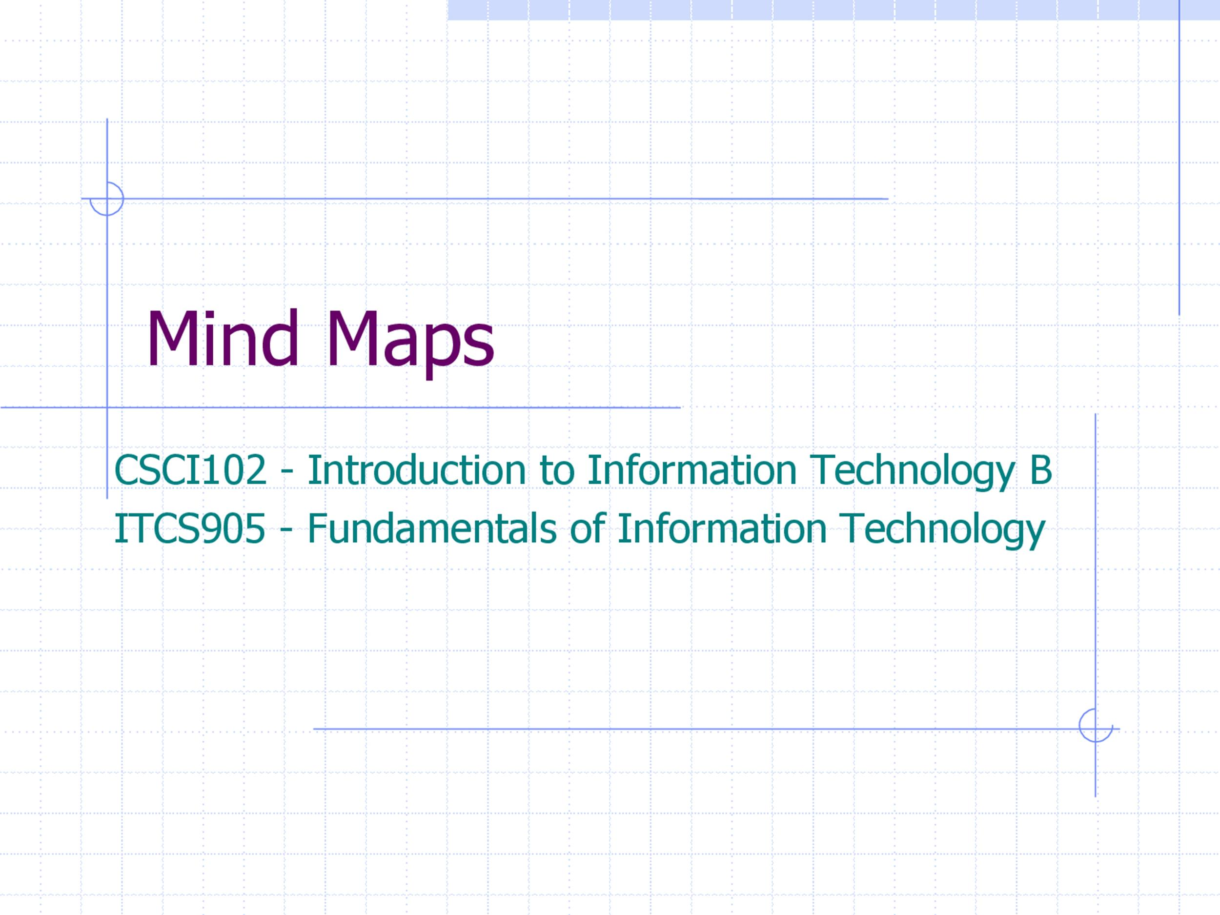 Free Mind Map Template 16