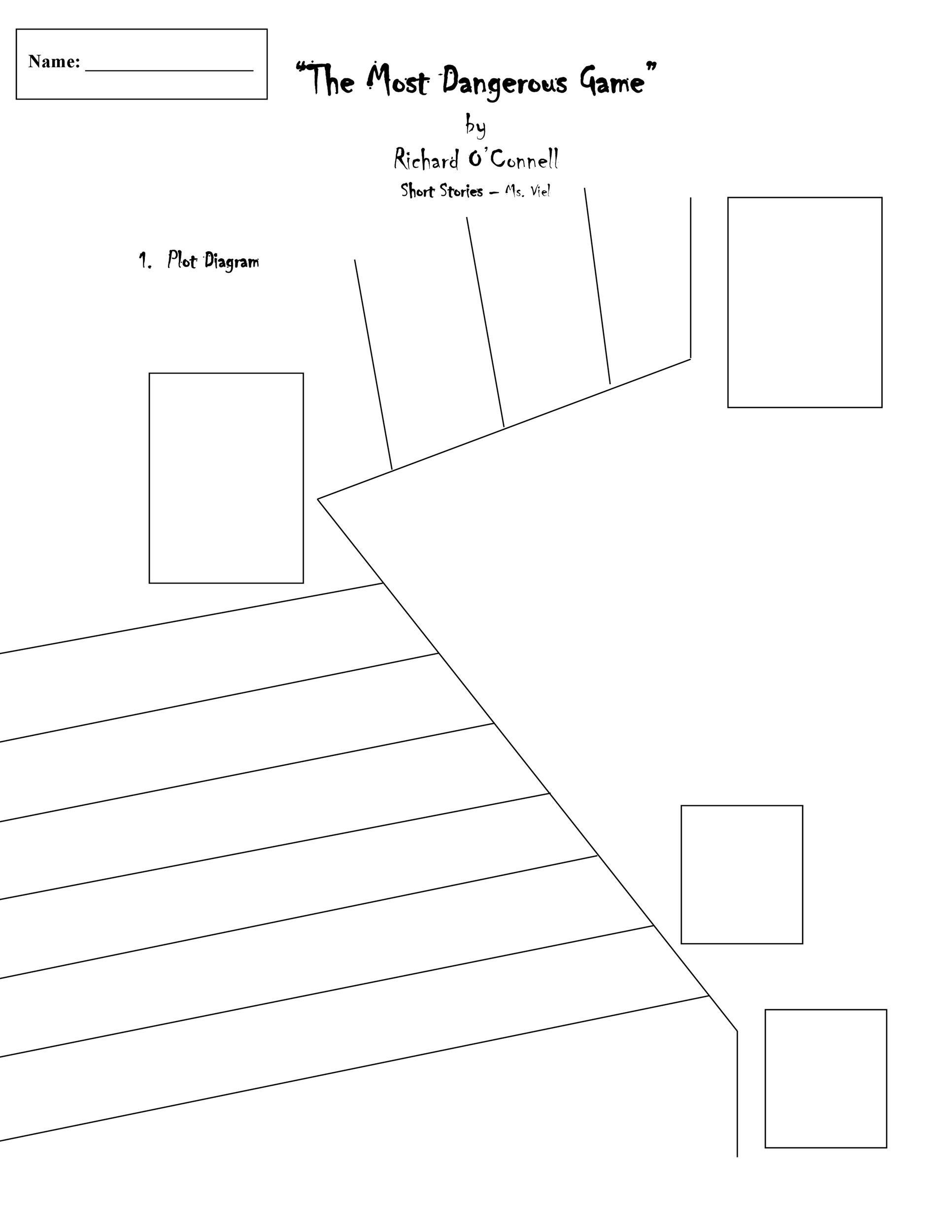 Free Plot Diagram Template 04