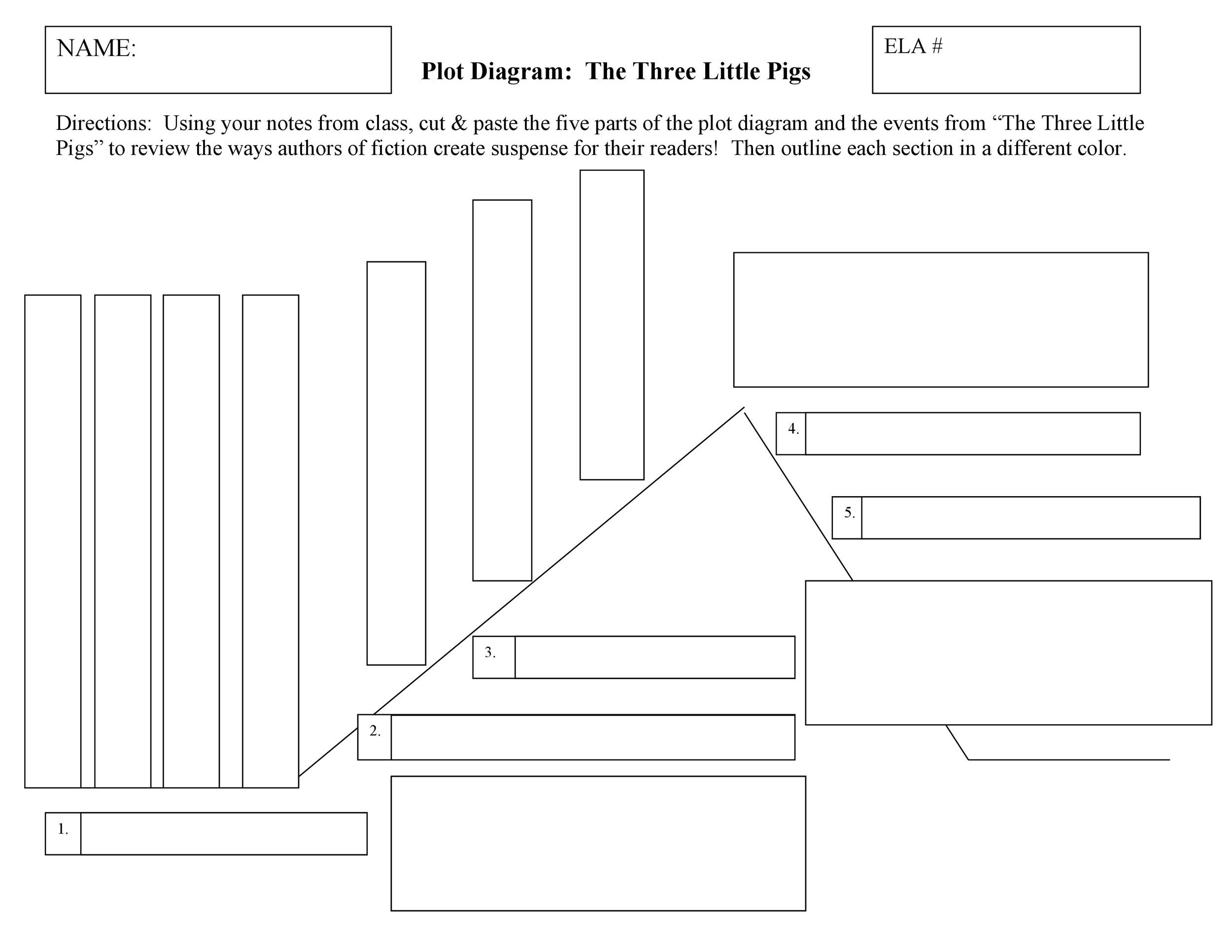 photograph about Printable Plot Diagrams named 45 Well-informed Plot Diagram Templates (Plot Pyramid) ᐅ