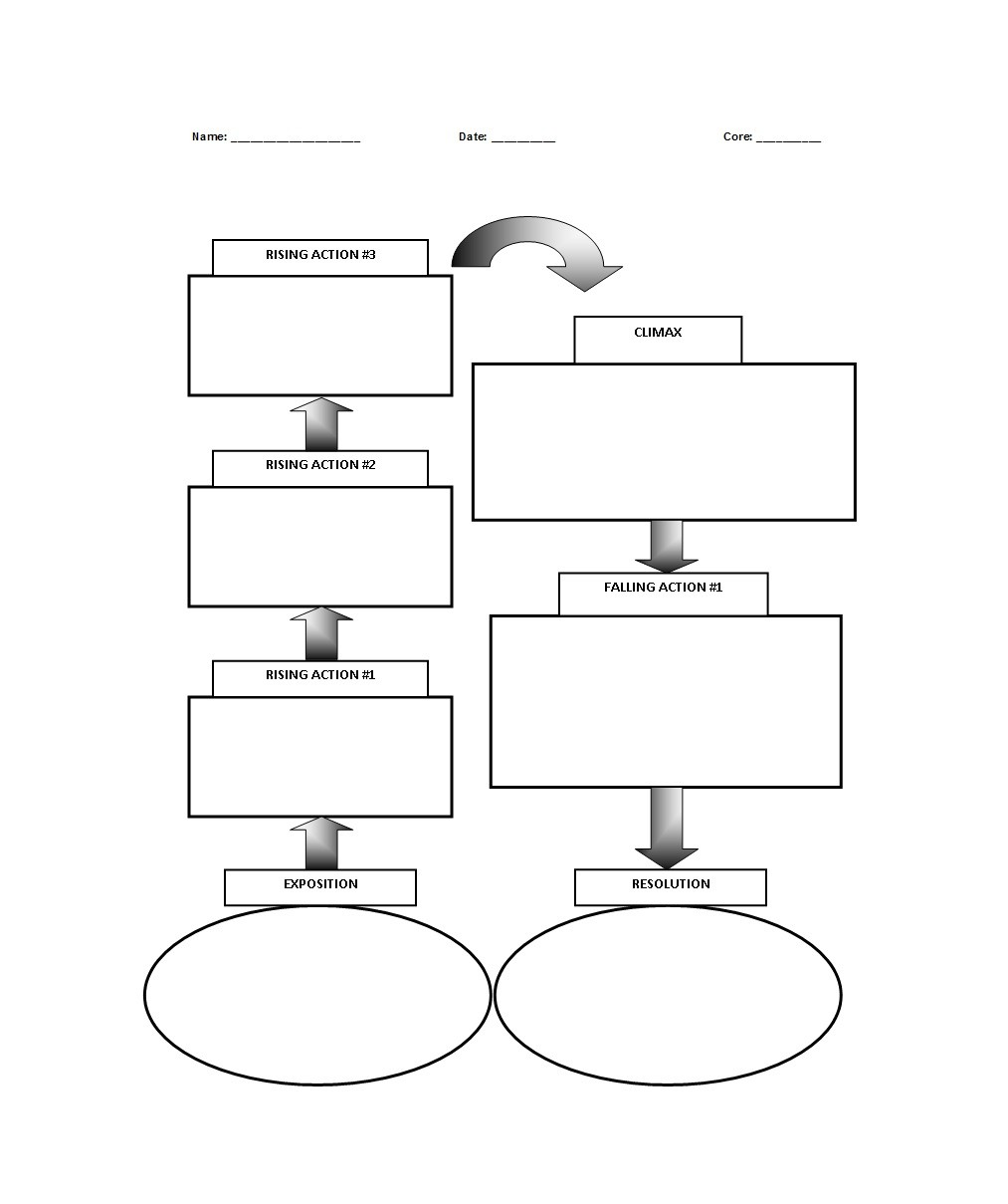 Free Plot Diagram Template 43
