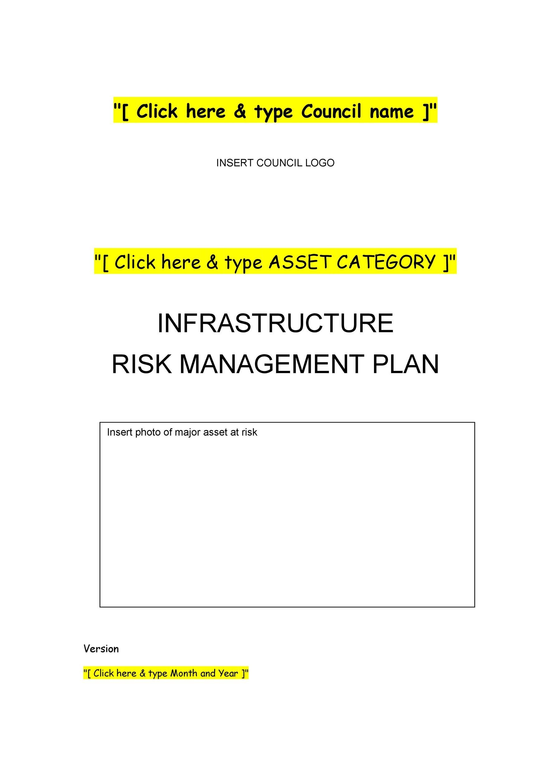 Free Risk Analysis Template 15