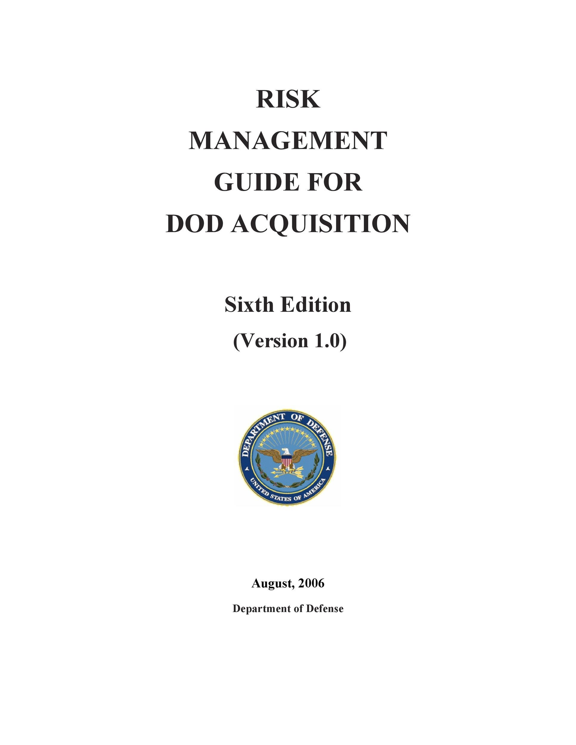 Free Risk Analysis Template 16
