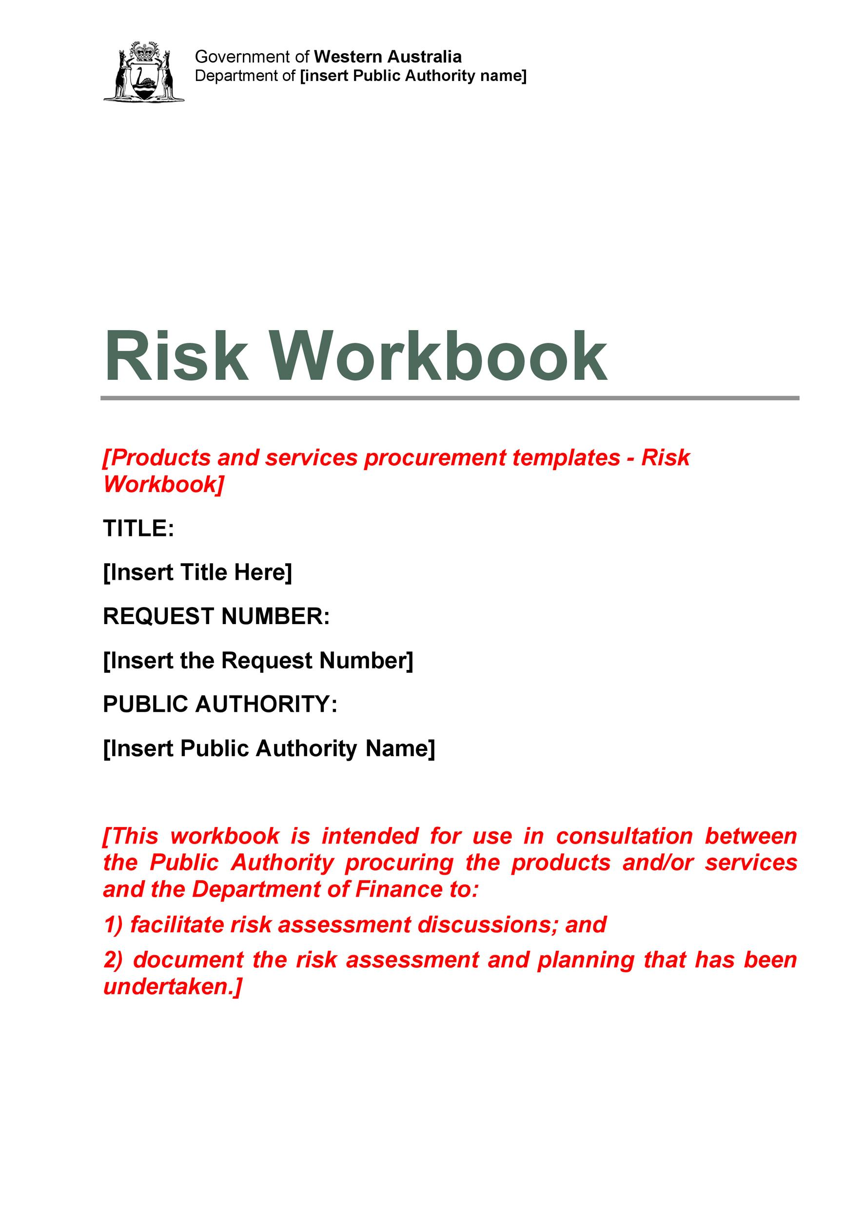 Free Risk Analysis Template 27