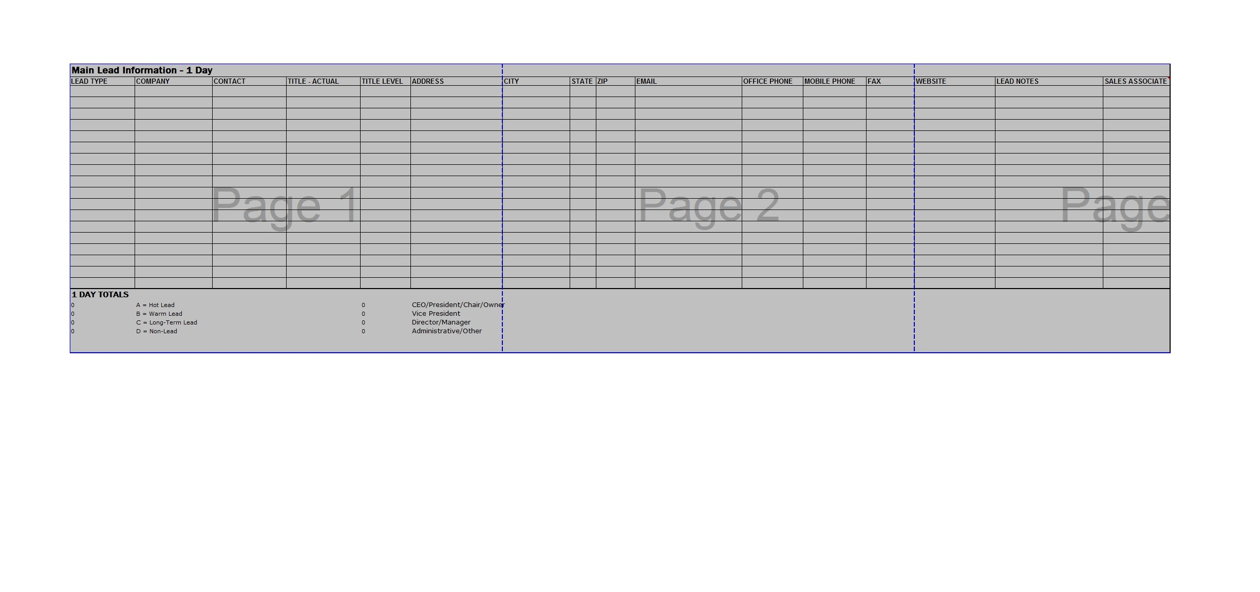 Free Sales Plan Template 26