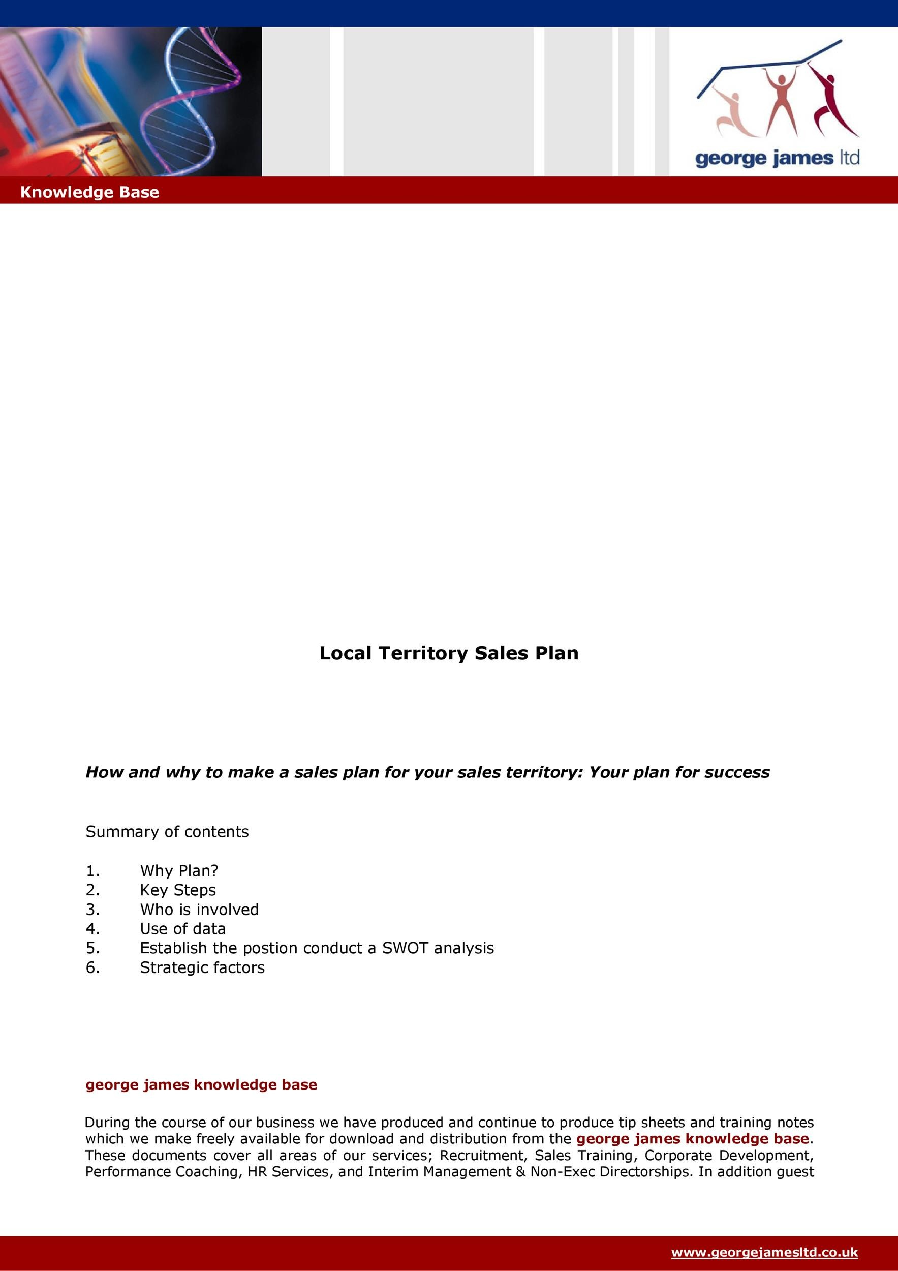 Free Sales Plan Template 32