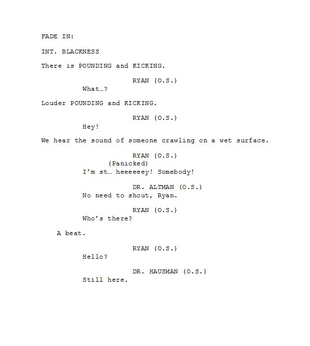 Free Screenplay Template 21