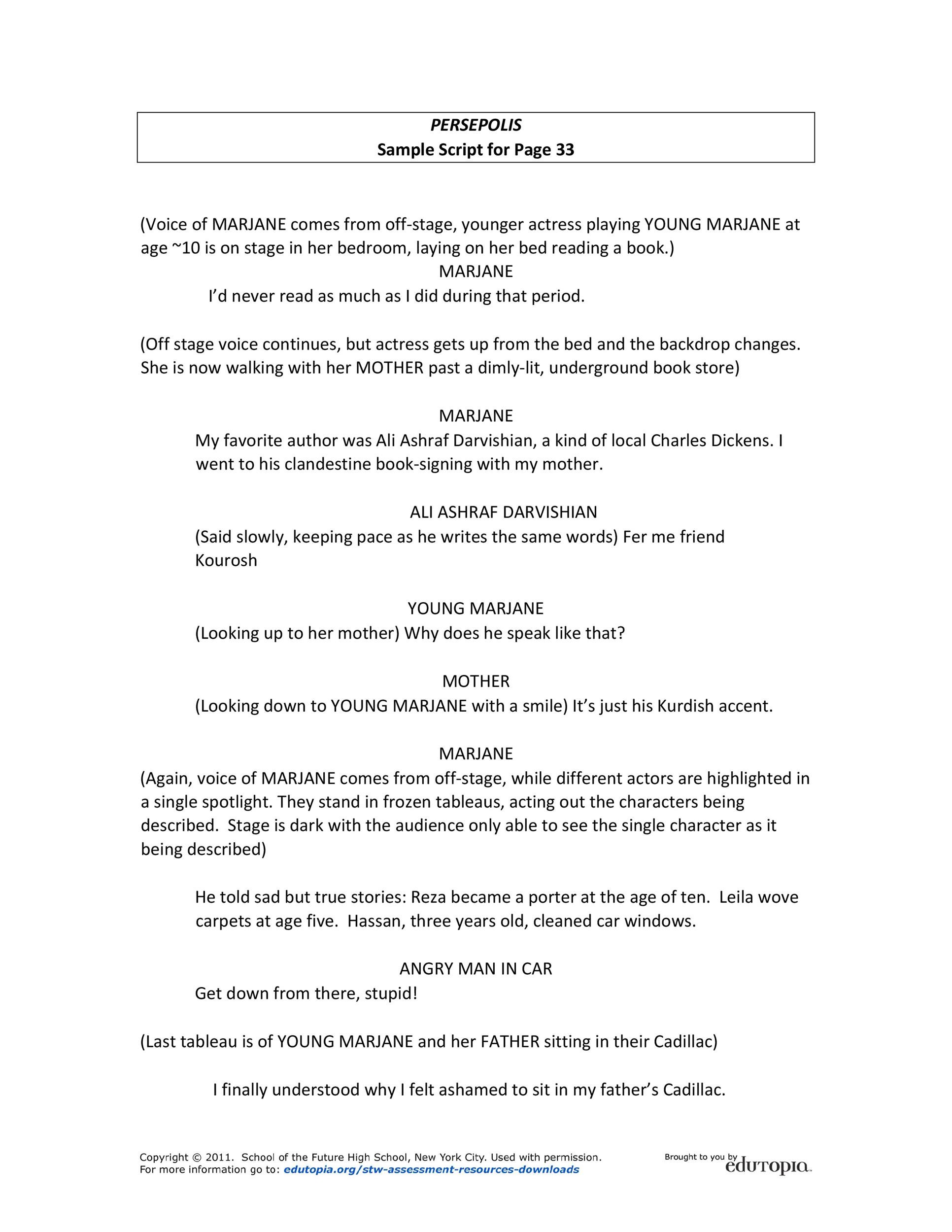 Free Screenplay Template 25