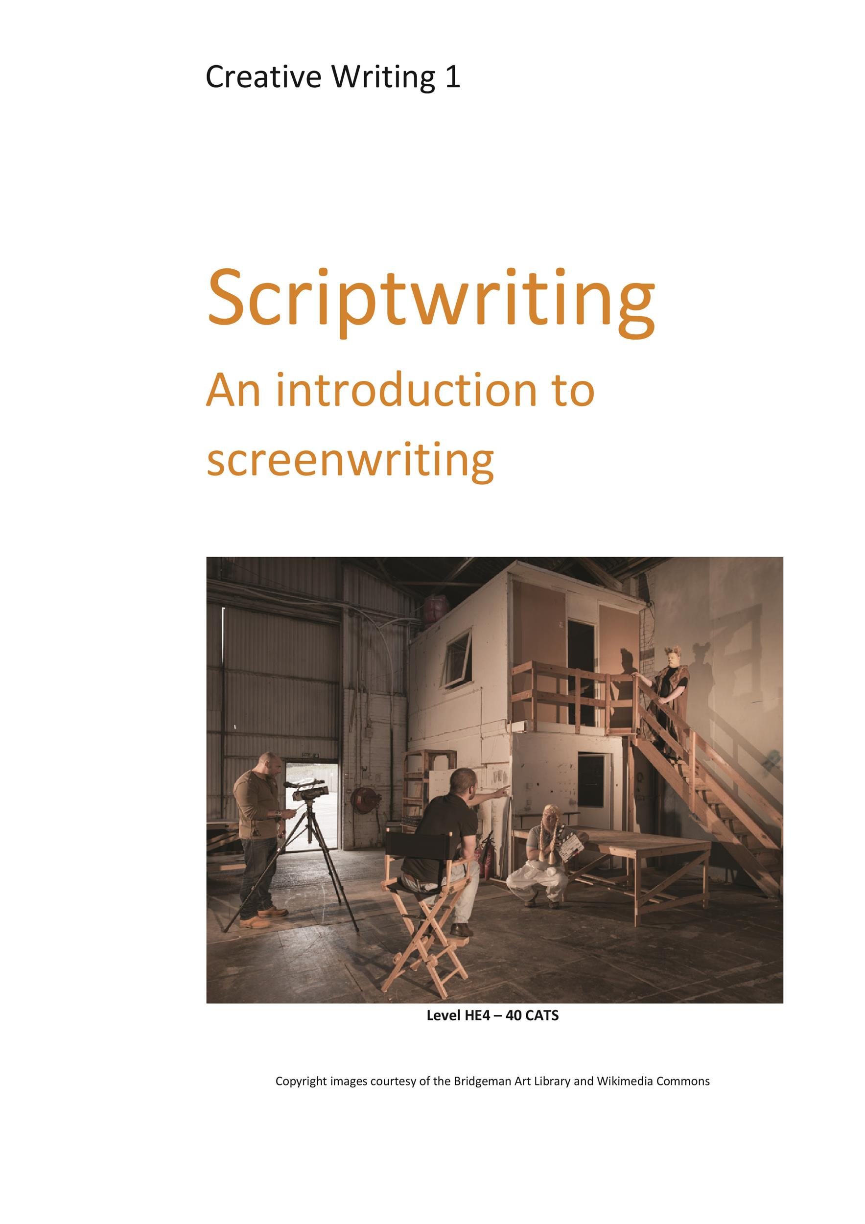 Screenplay Templates