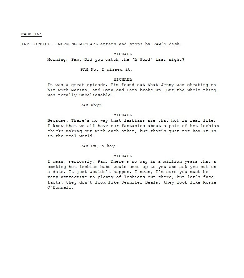 Free Screenplay Template 30
