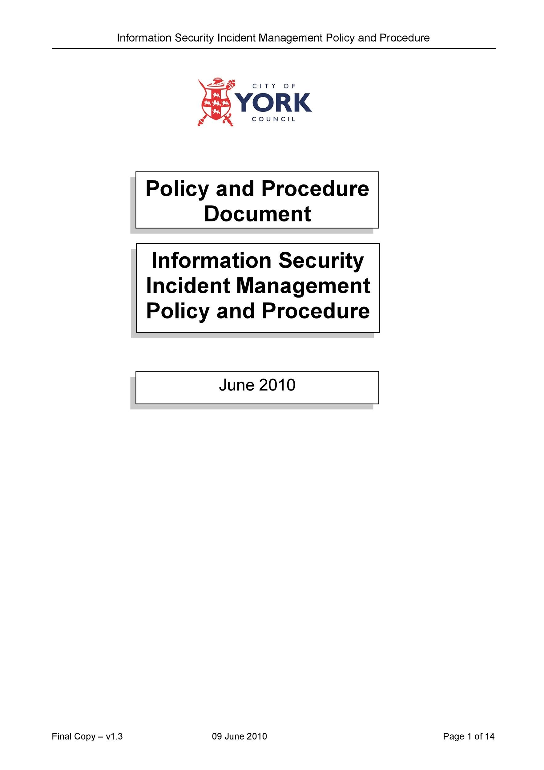 Free Security Policy 19