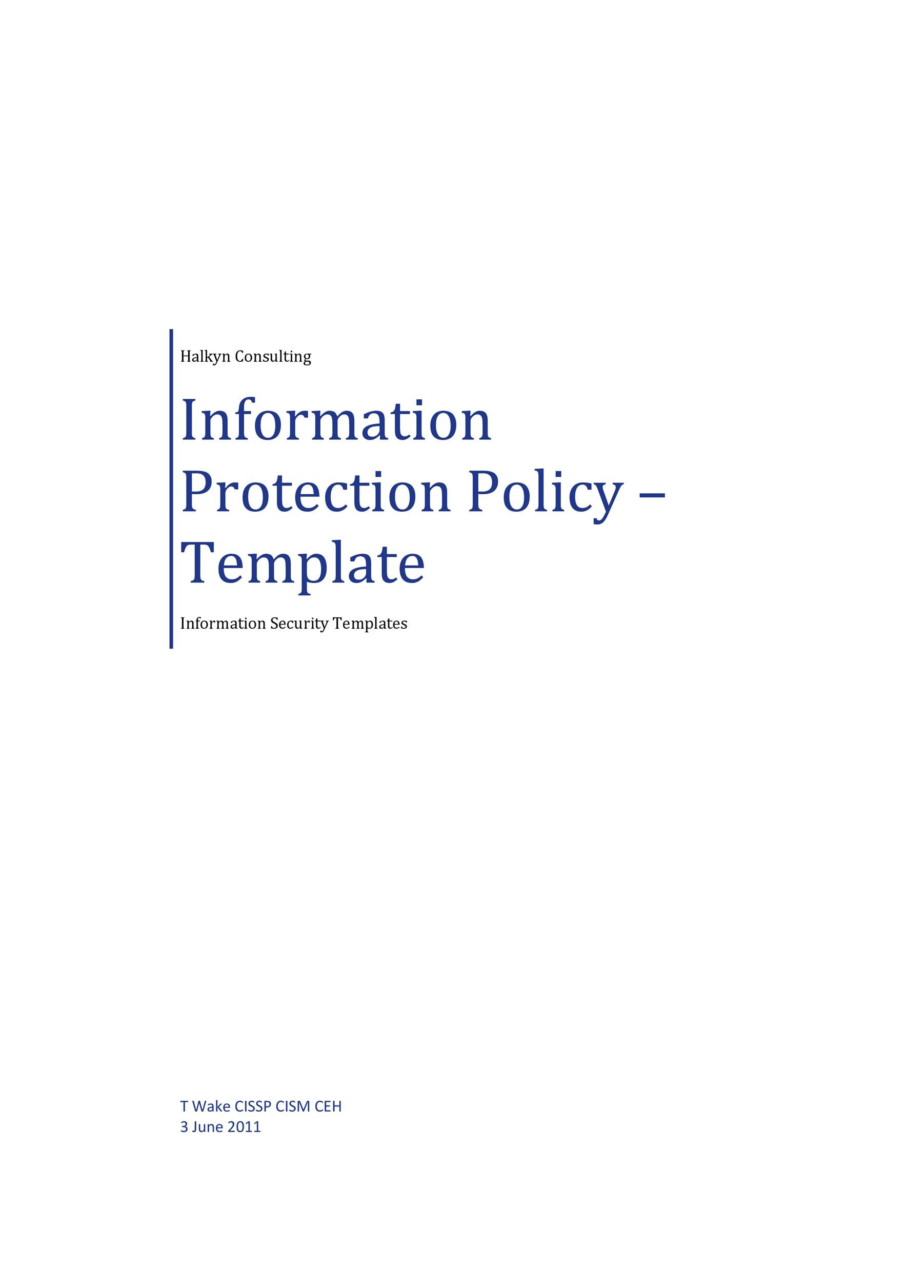 Free Security Policy 21