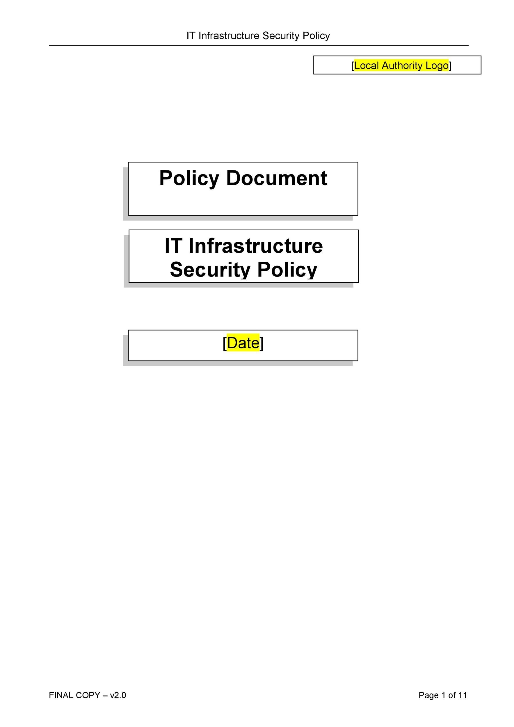 Free Security Policy 28