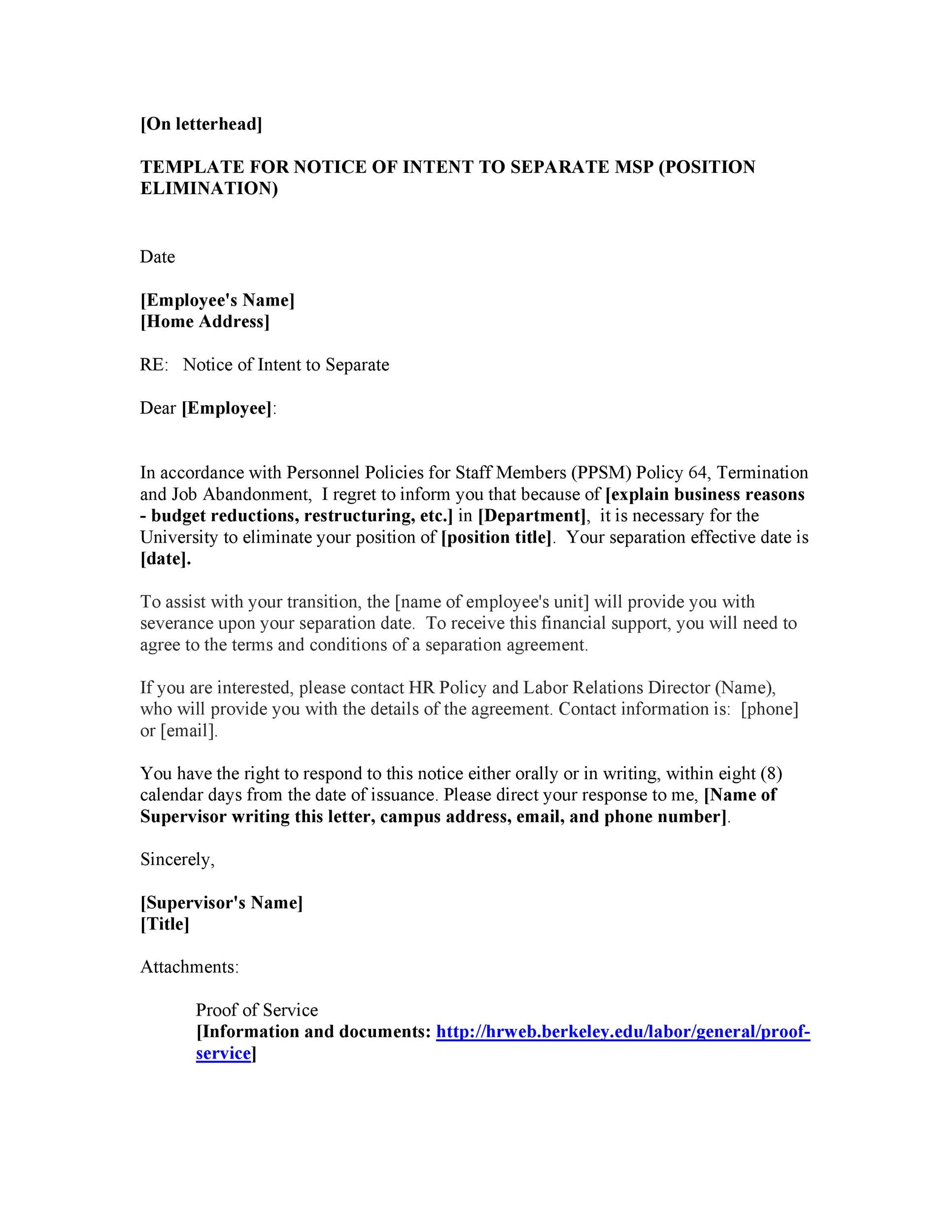 Free Separation Agreement Template 16