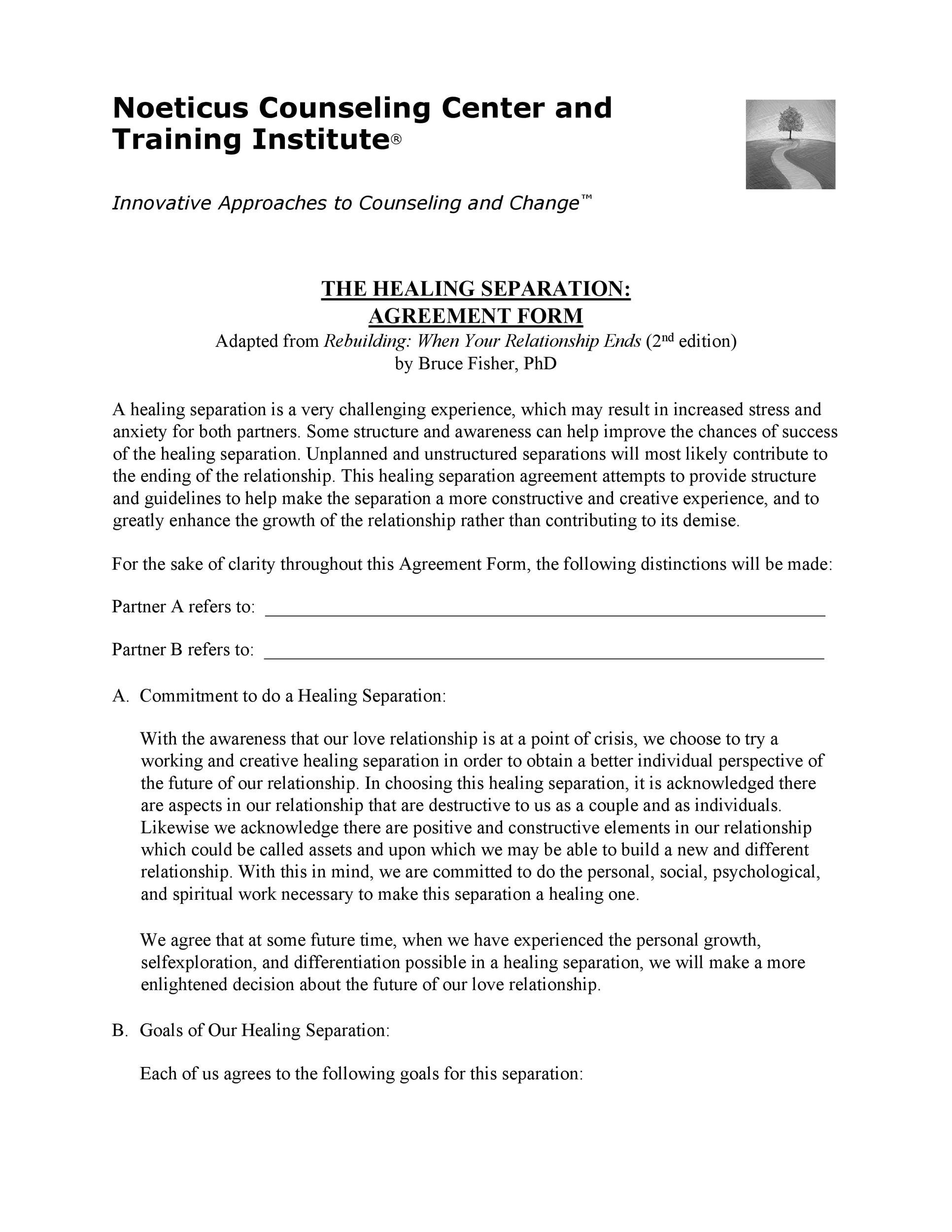 Free Separation Agreement Template 36