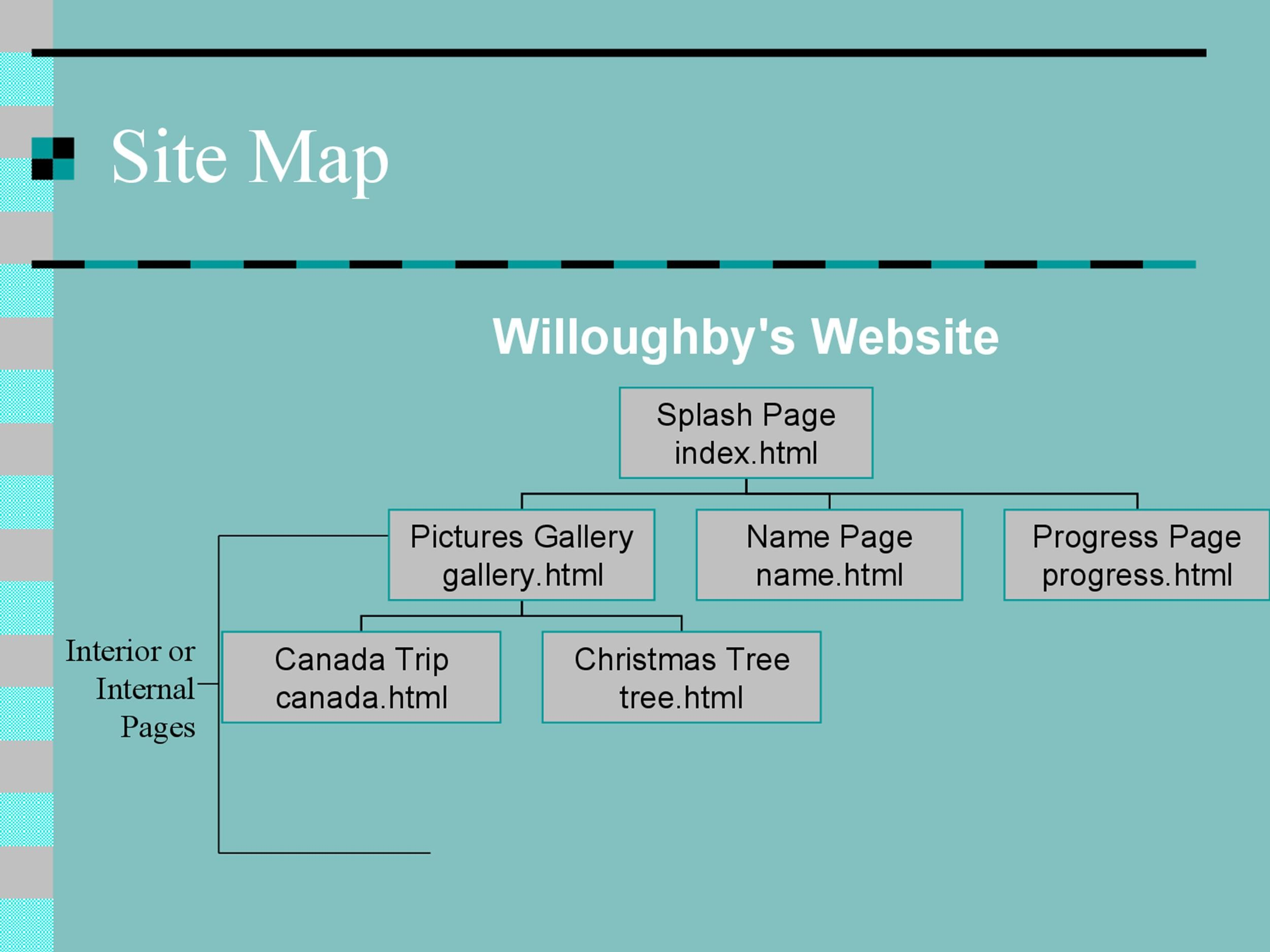 Free Site Map Template 07