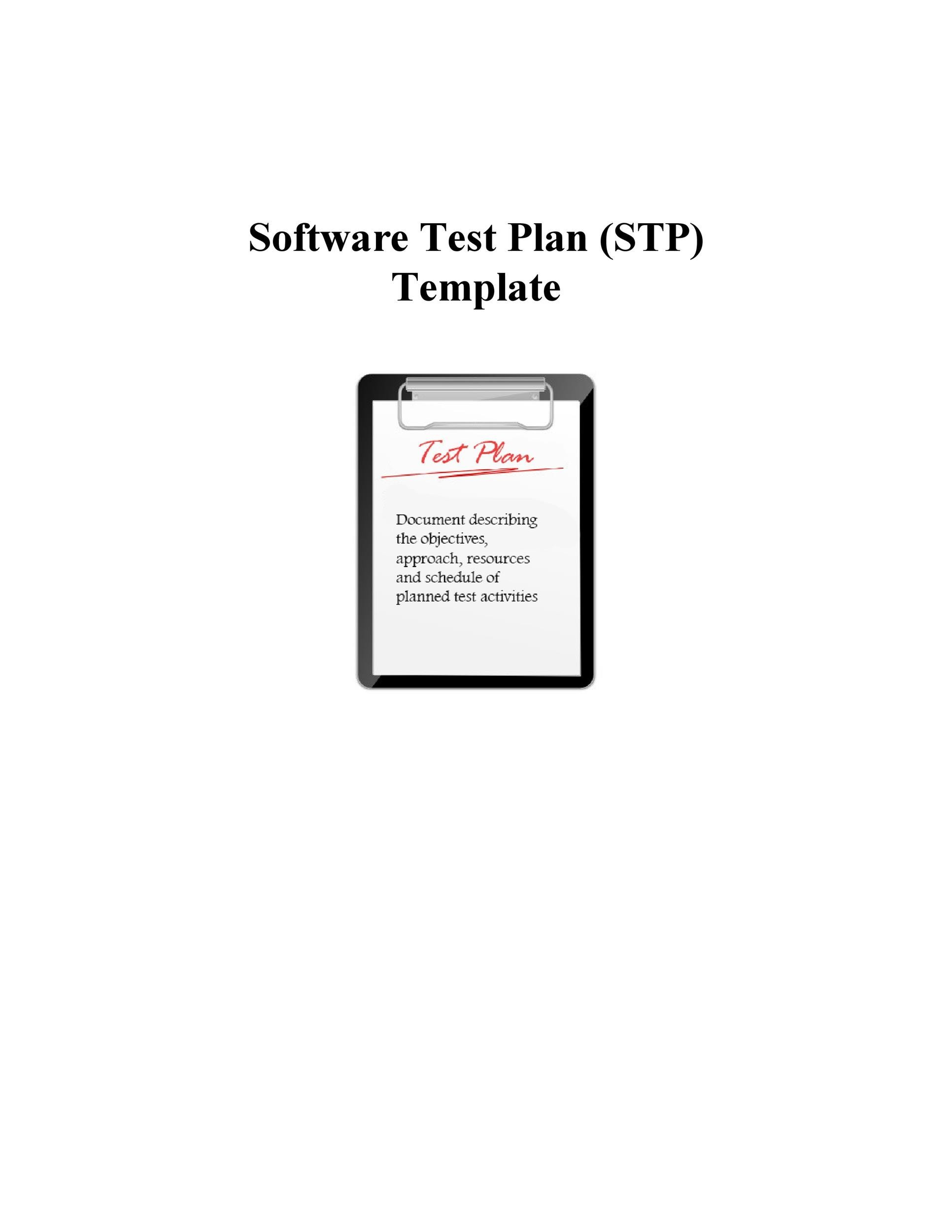 Free Test Plan Template 26